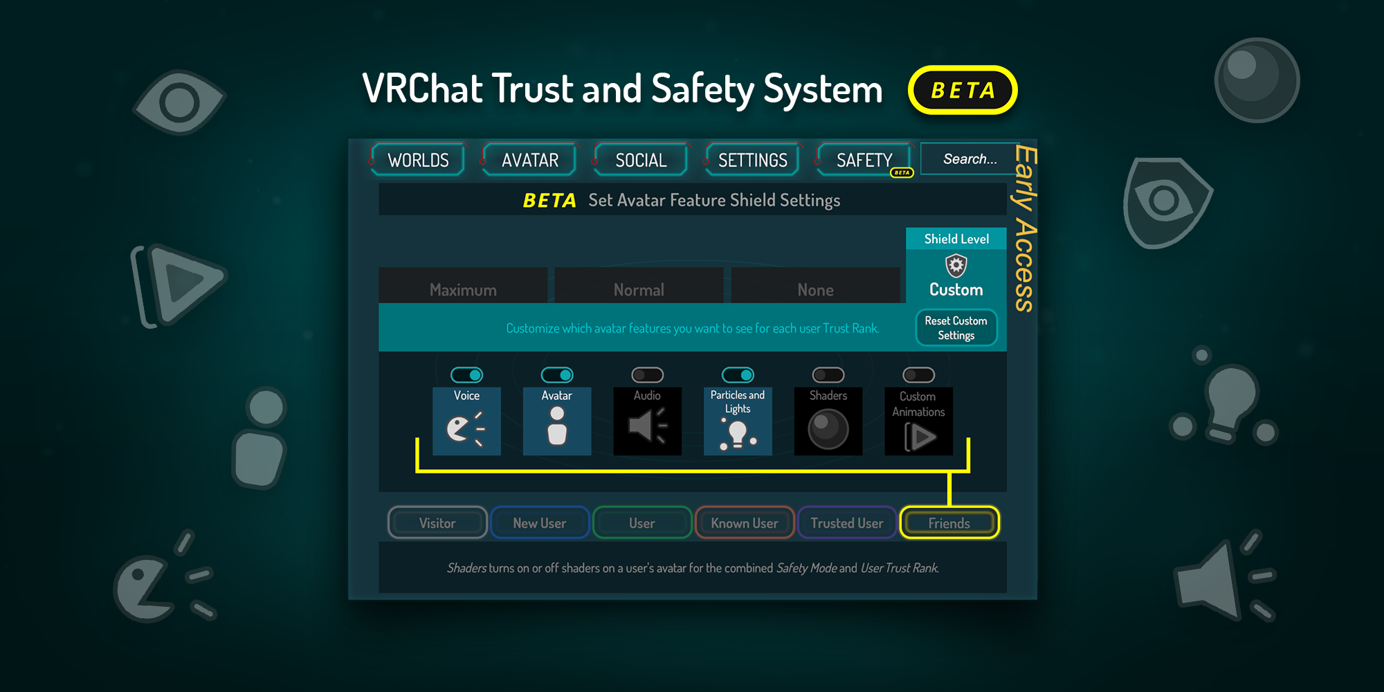 VRChat Safety and Trust System: Changes and Feedback