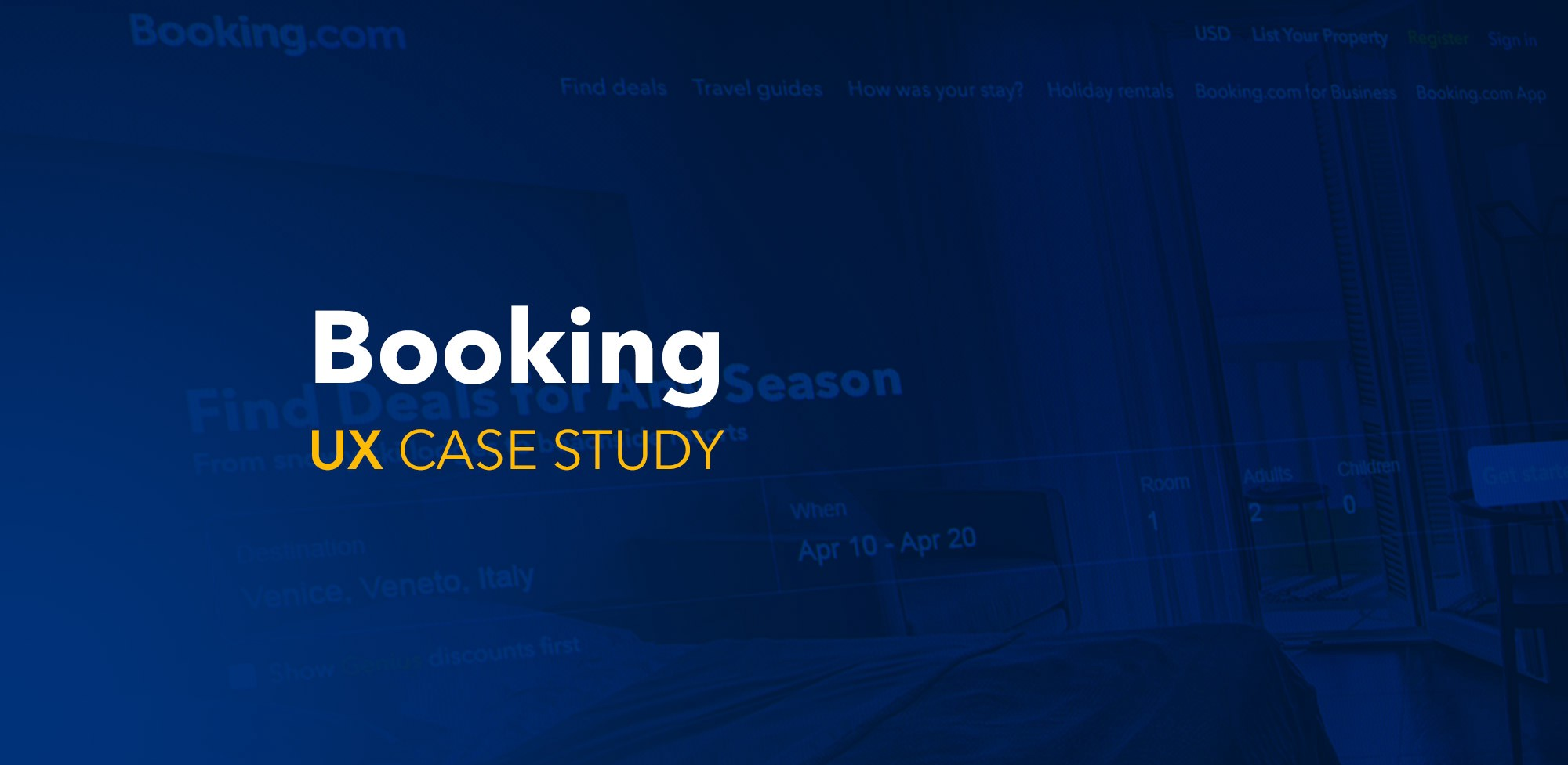 Booking com: A UX Case Study - UX Collective