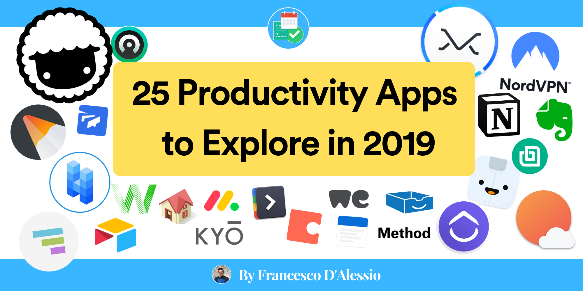 25 Productivity Apps to Explore in 2019 - Francesco D