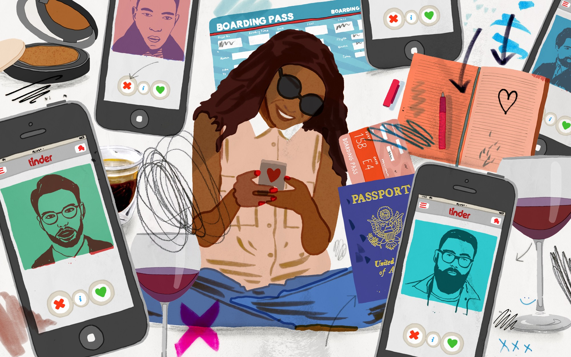 What I Learned Tindering My Way Across Europe