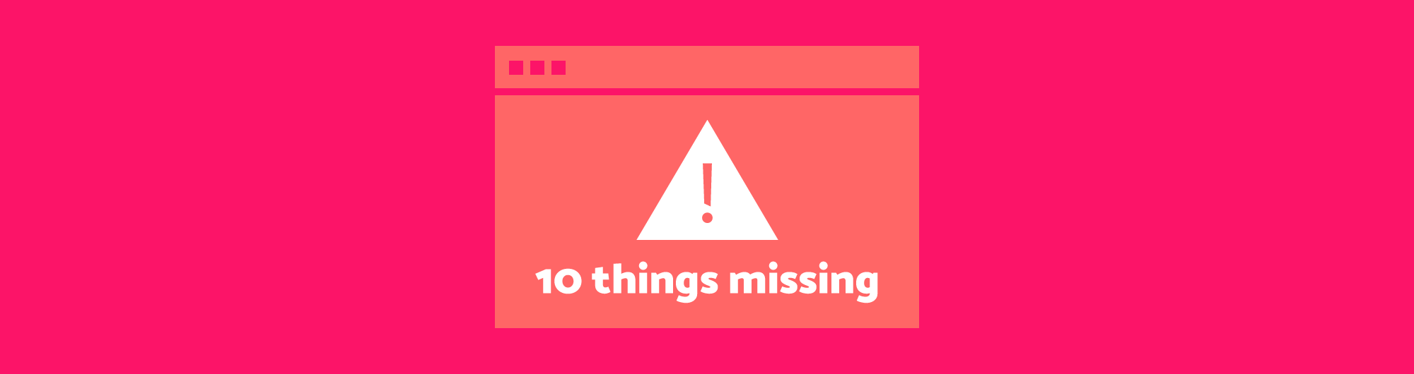 10 things your website might be missing - Etch