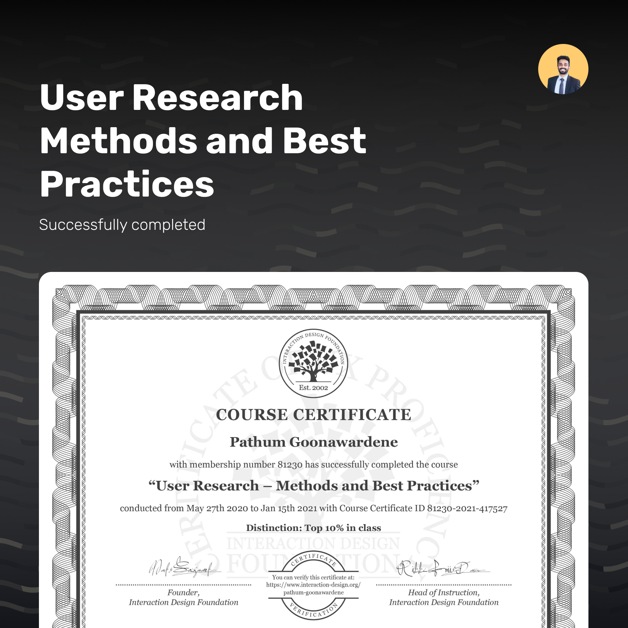 User Research Methods and Best practices