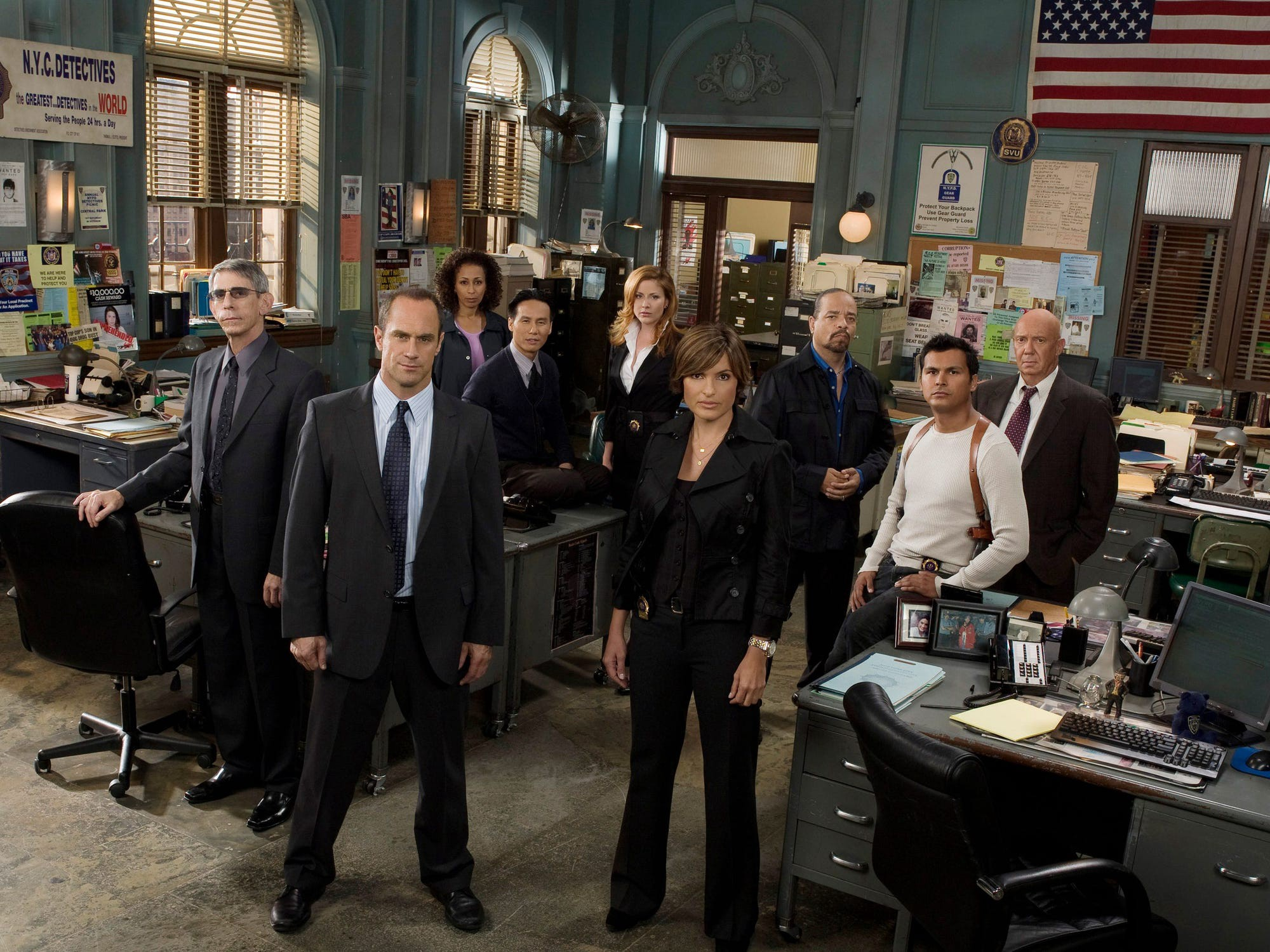 """The cast of """"Law and Order: SVU."""""""