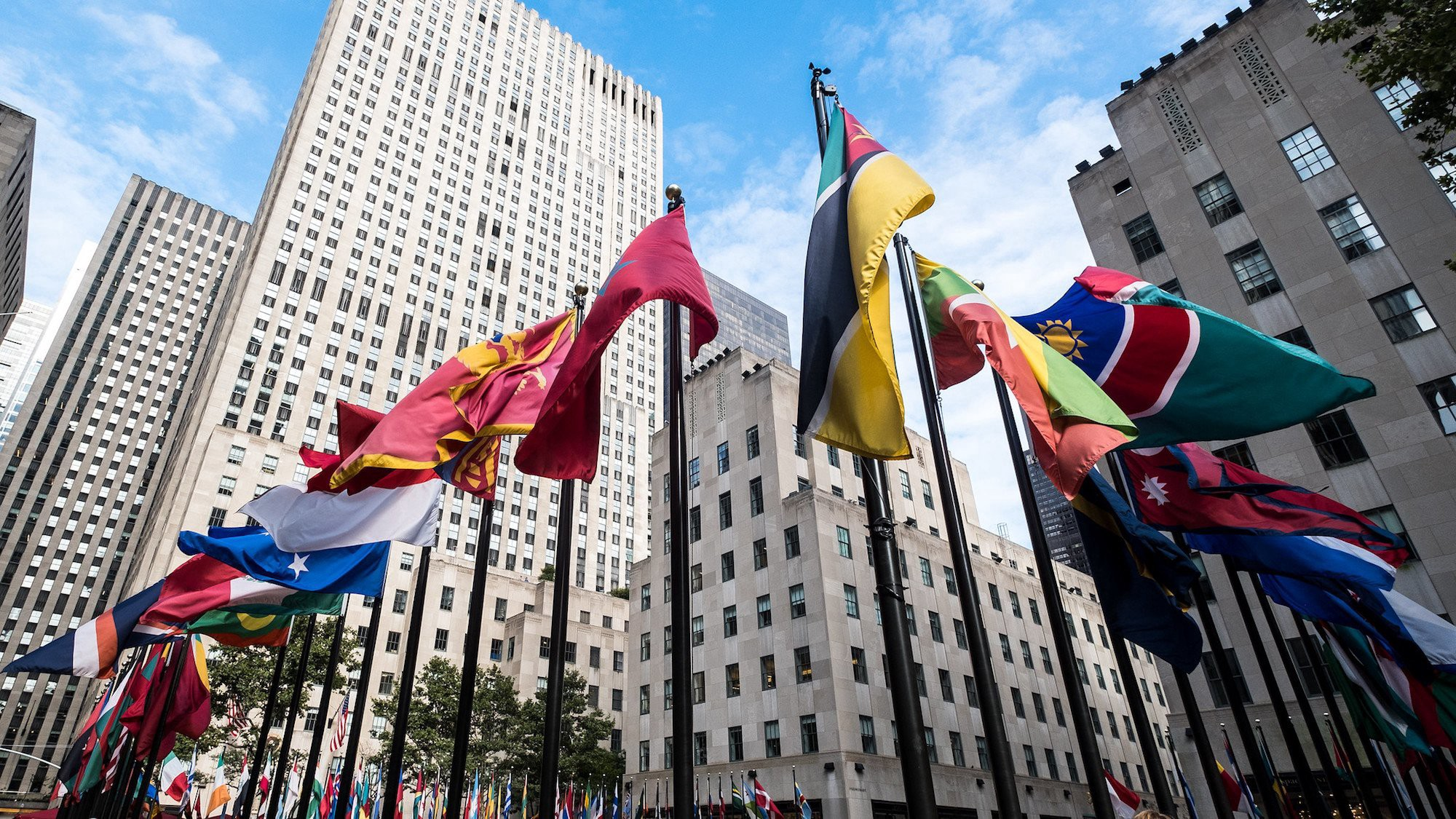 Picture from Rockefeller center https://www.6sqft.com/new-yorkers-invited-to-design-iconic-rockefeller-center-flags/