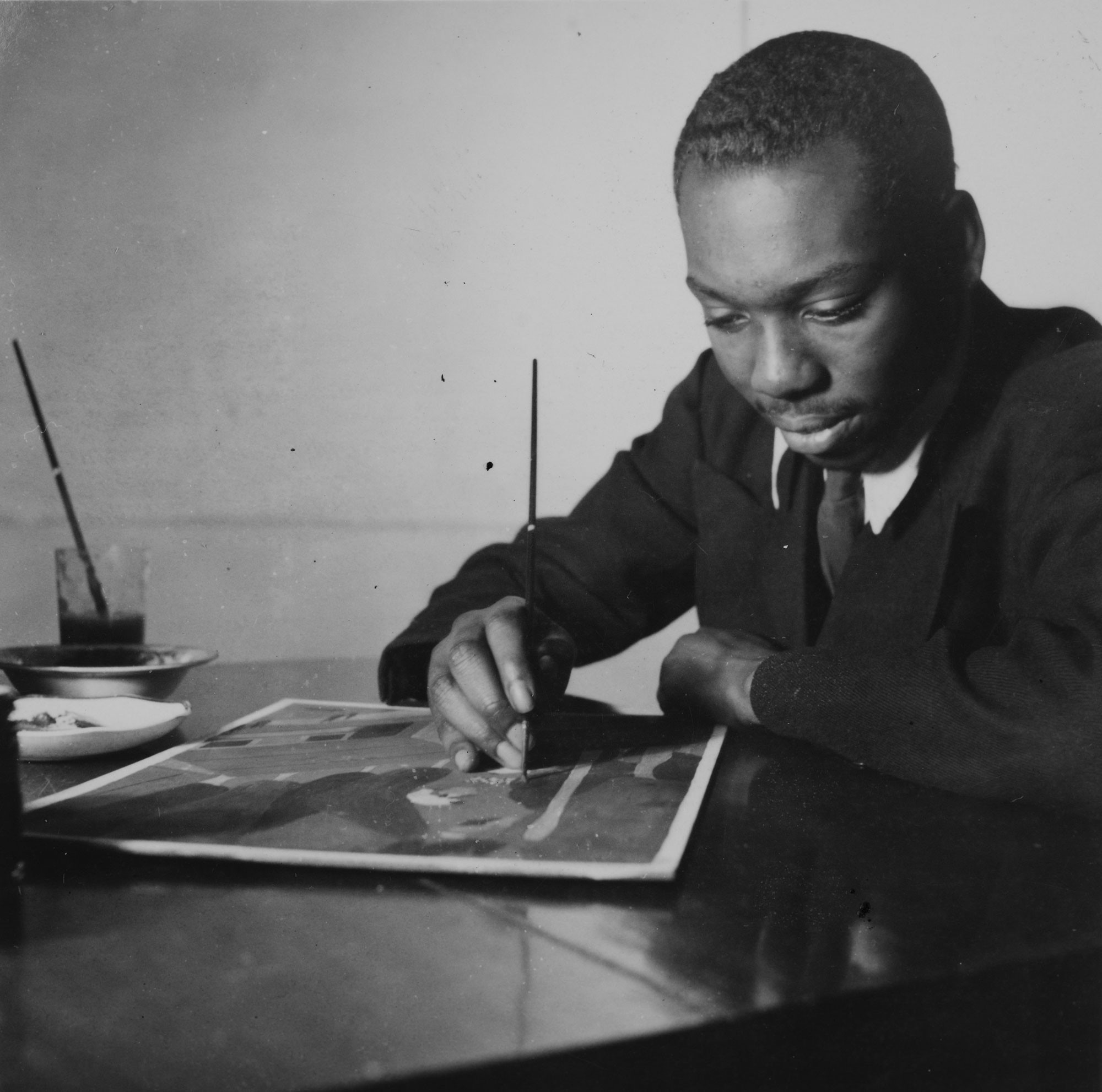 Watch: This young black painter made art history with his ...