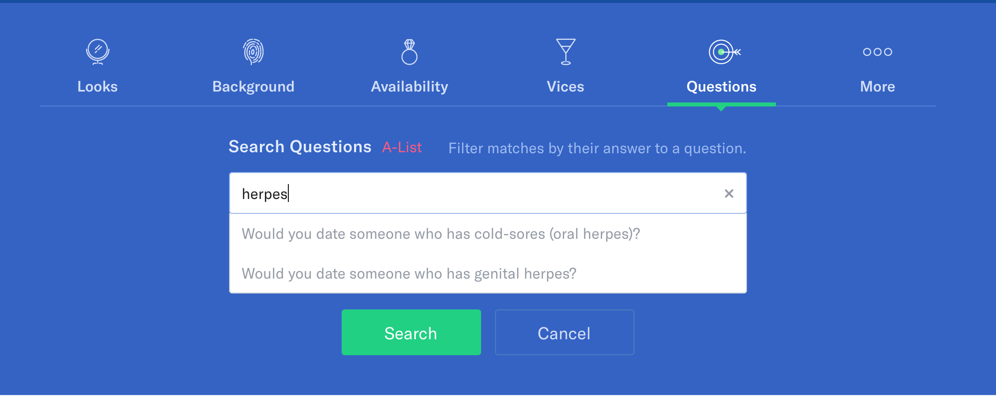 okcupid questions list