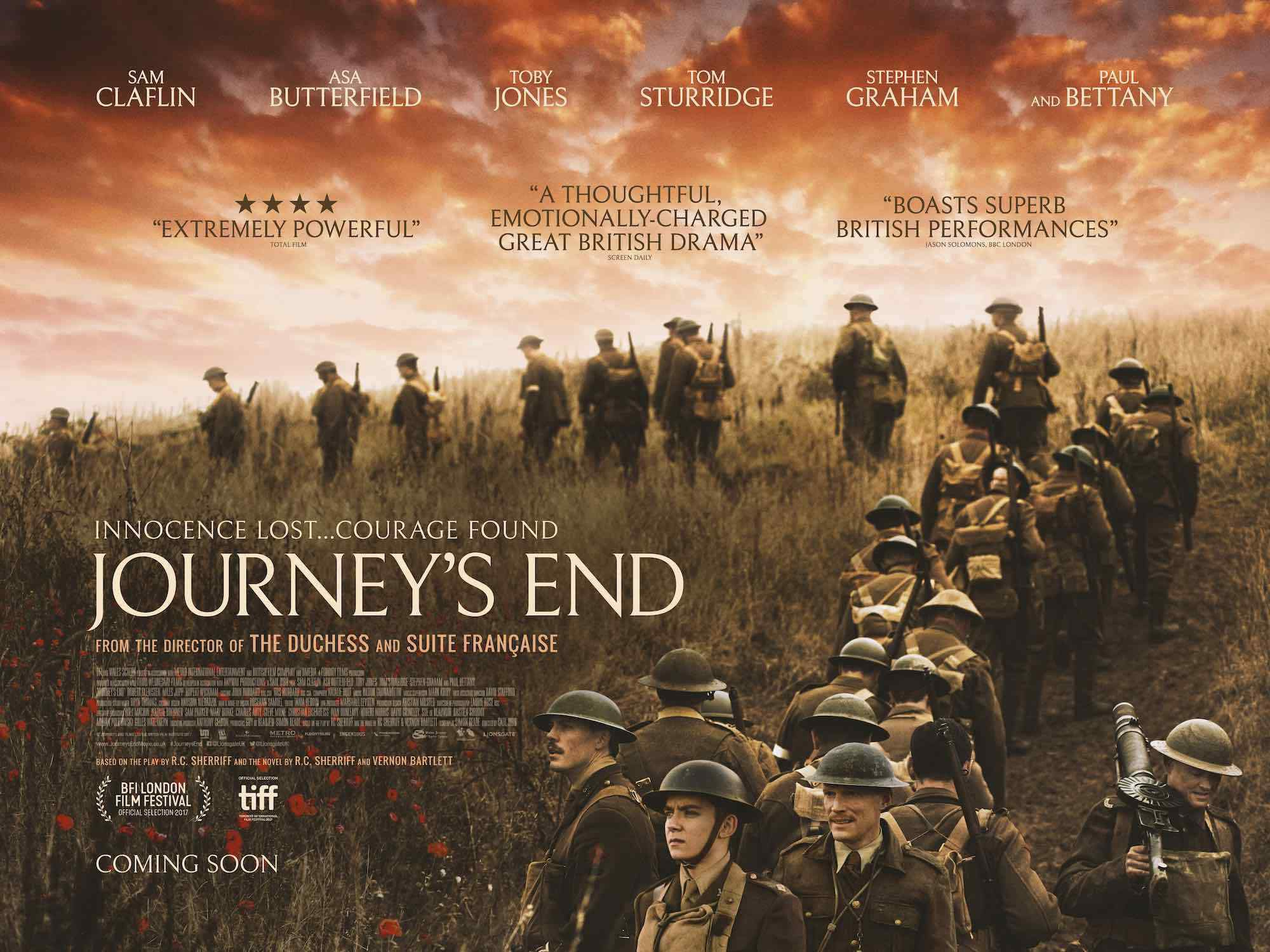 Journey's End Review - A Guy Who Talks About Movies - Medium