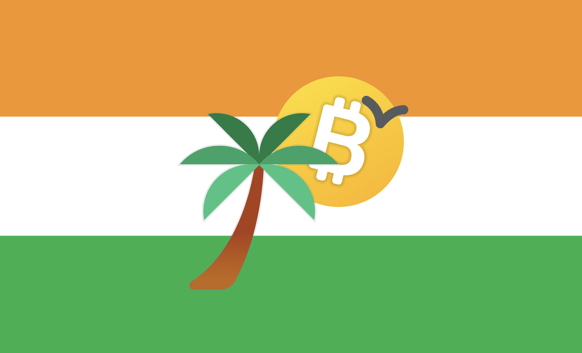 The image of the article in Balaji S Srinivasan's latest article on 'Miami Tech Week—The Start Of Startup Cities. It has the backdrop of the Indian flag along with images of a healthy tree, the Bitcoin Logo & a flying bird. To my mind, the image signifies democracy, nature, decentralization & freedom.
