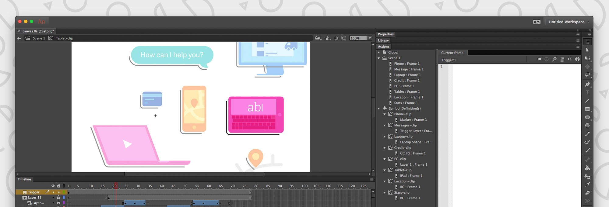 Creating a vector animation for the web in a post-Flash world