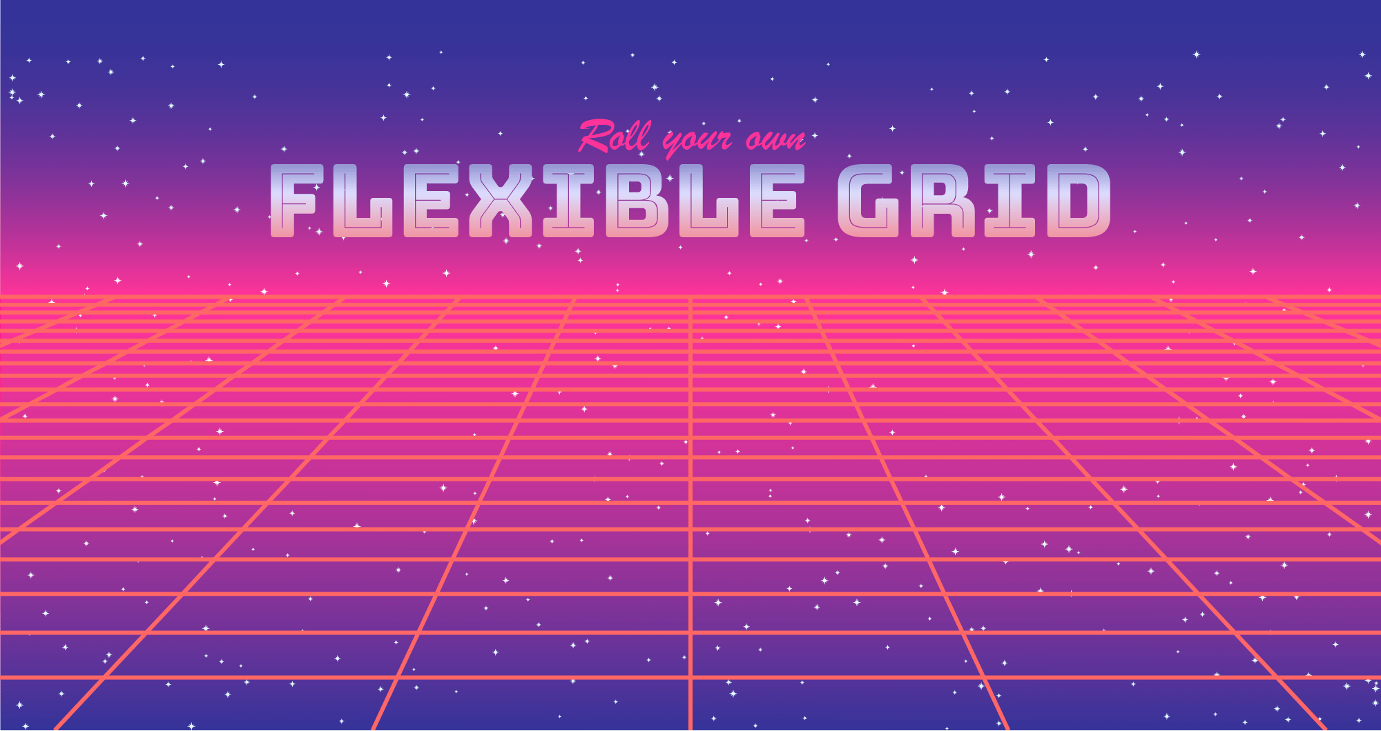 Roll your own flexible grid system - Etch