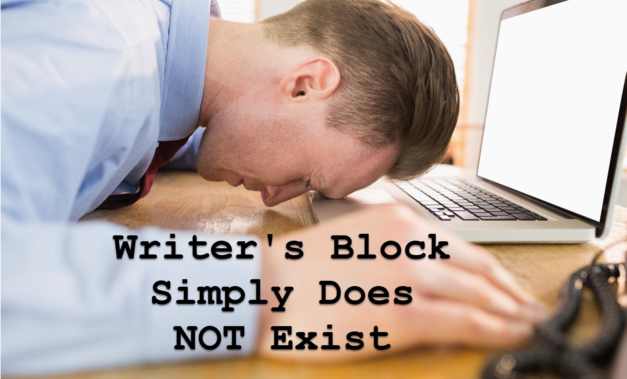 Writers Block Simply Does NOT Exist - The Startup - Medium