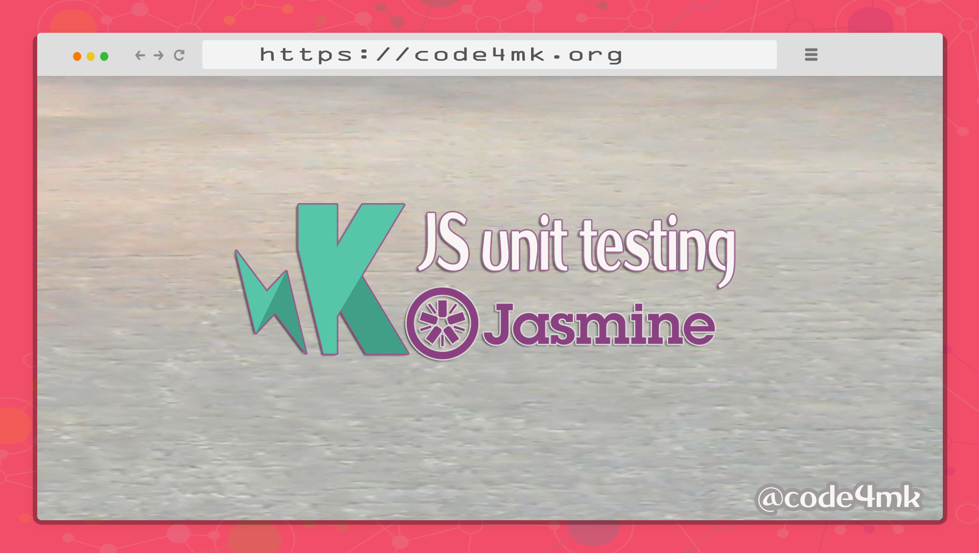 JS unit testing with karma and jasmine - codeburst