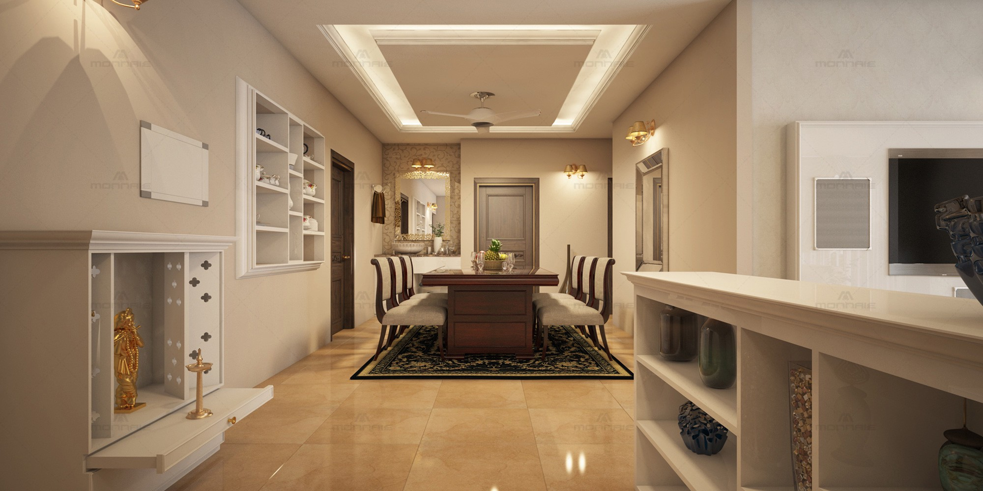 Sophisticated Styles Leading Interior Designers In Kerala Monnaie Interiors By Monnaie Architects Interiors Medium
