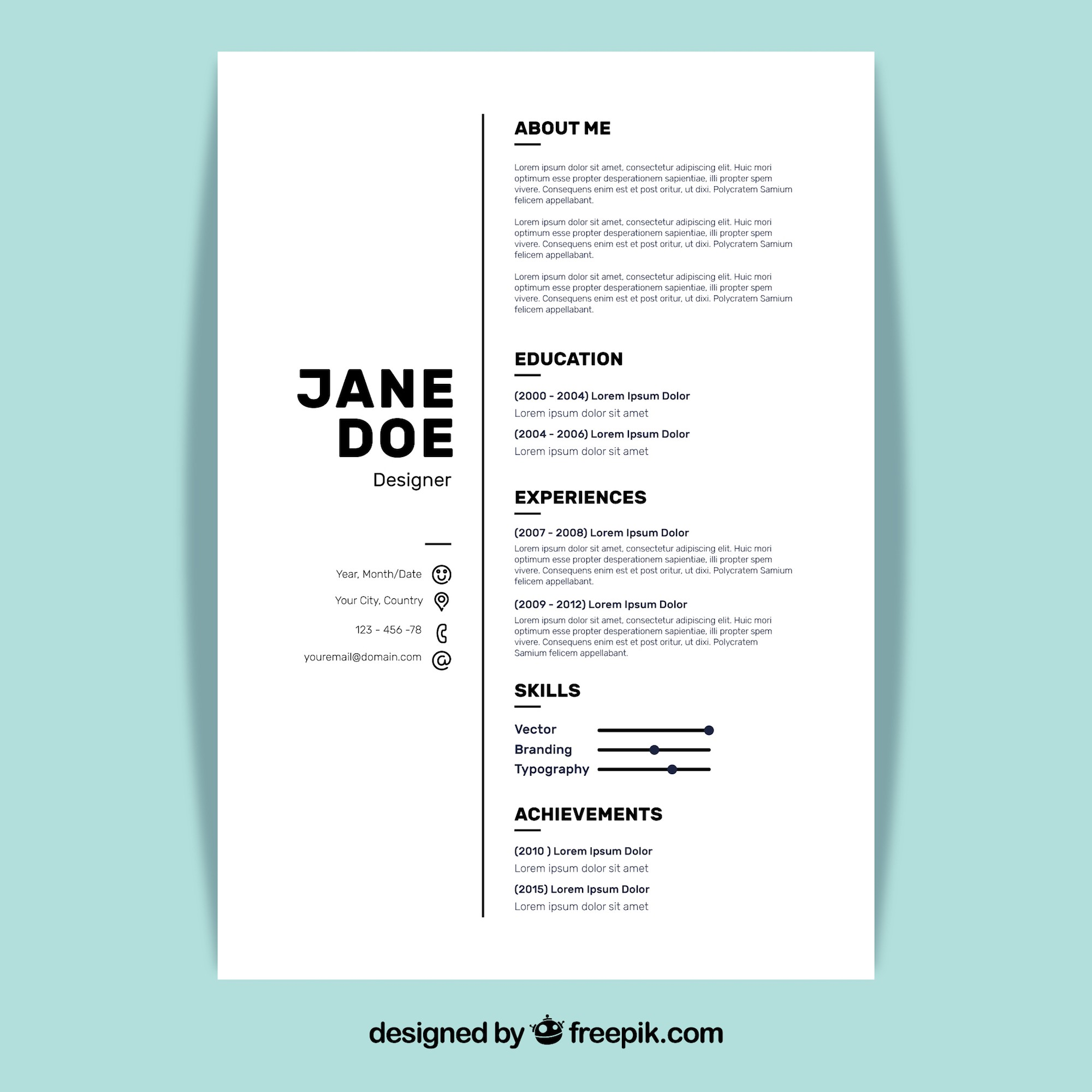 5 Resume Design Principles To Create The Perfect Resume By Board