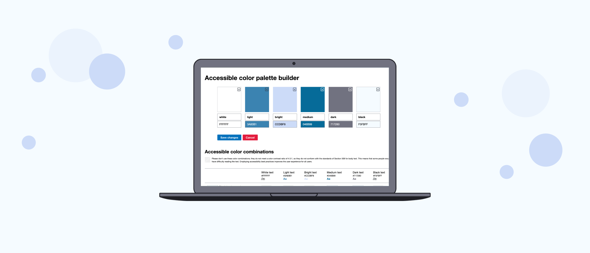 Accessibility tools for designers and developers
