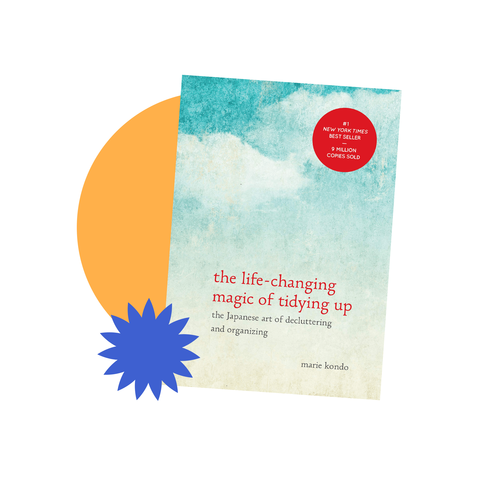 Book jacket cover for The Life-Changing Magic of Tidying Up by Marie Kondo