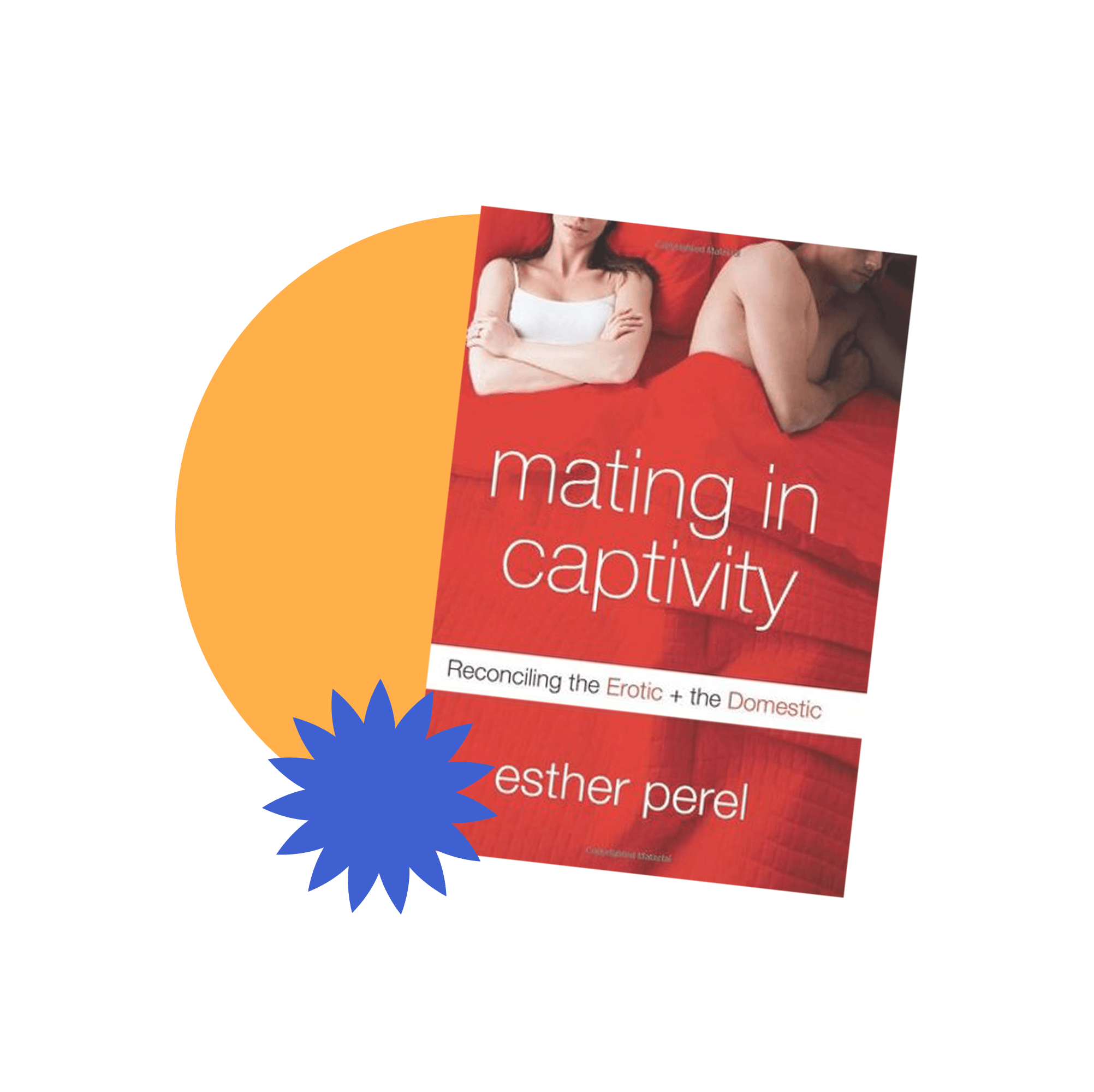 Book jacket cover for Mating in Captivity: Reconciling the Erotic and the Domestic by Esther Perel