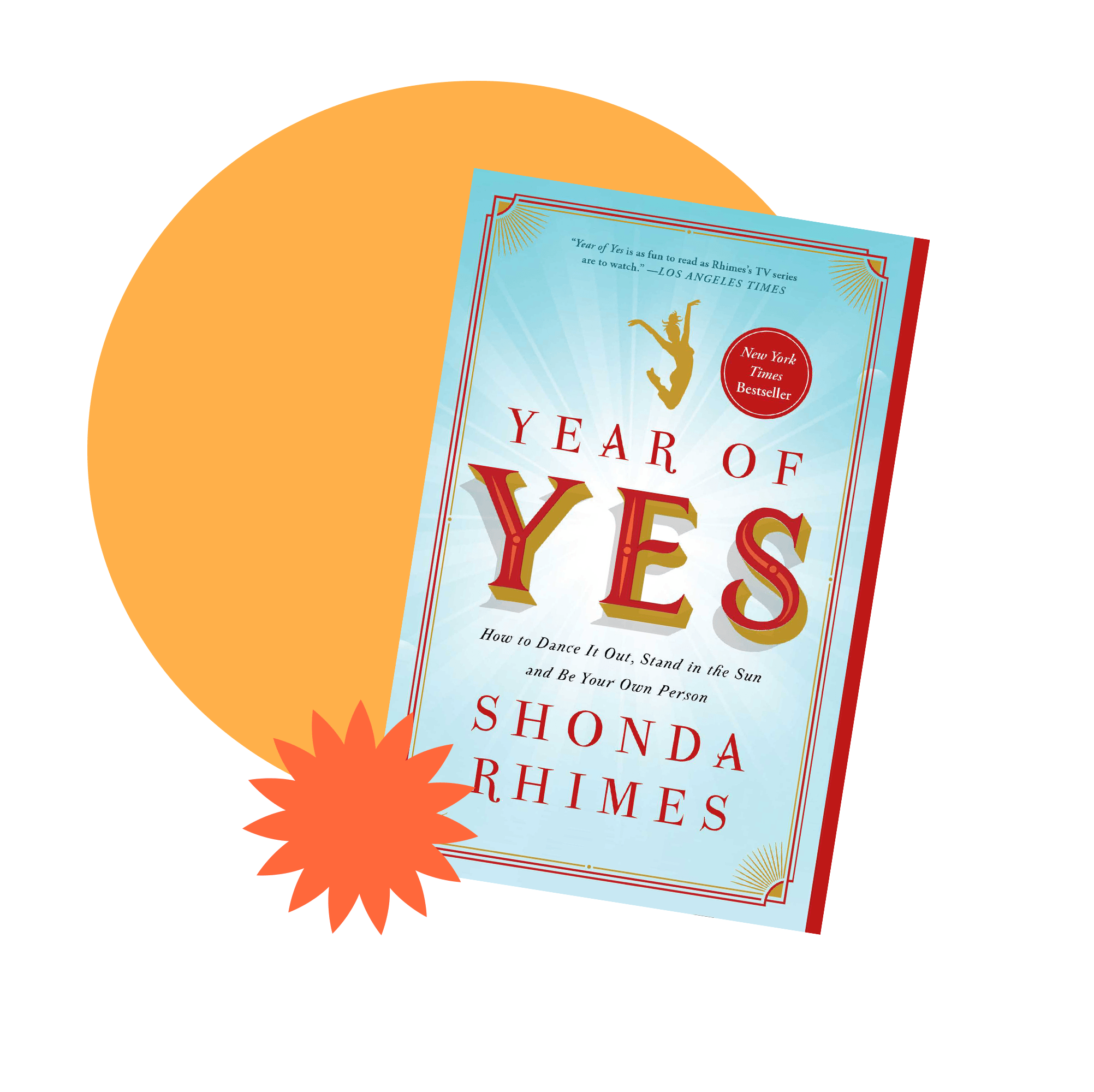 Book jacket cover for Year of Yes by Shonda Rhimes