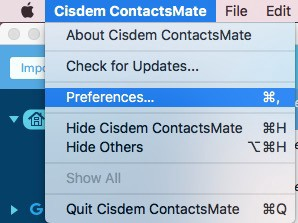 Duplicates in Google Contacts