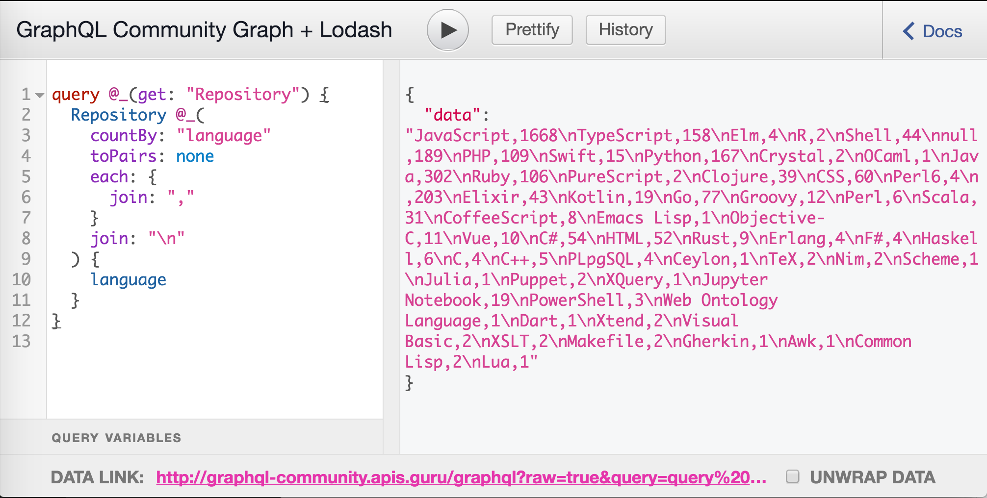 From GraphQL to CSV: the story of API accessibility