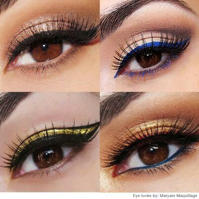 Colored Eyeliner Looks Ways To Style Them By Luster Eyes Medium