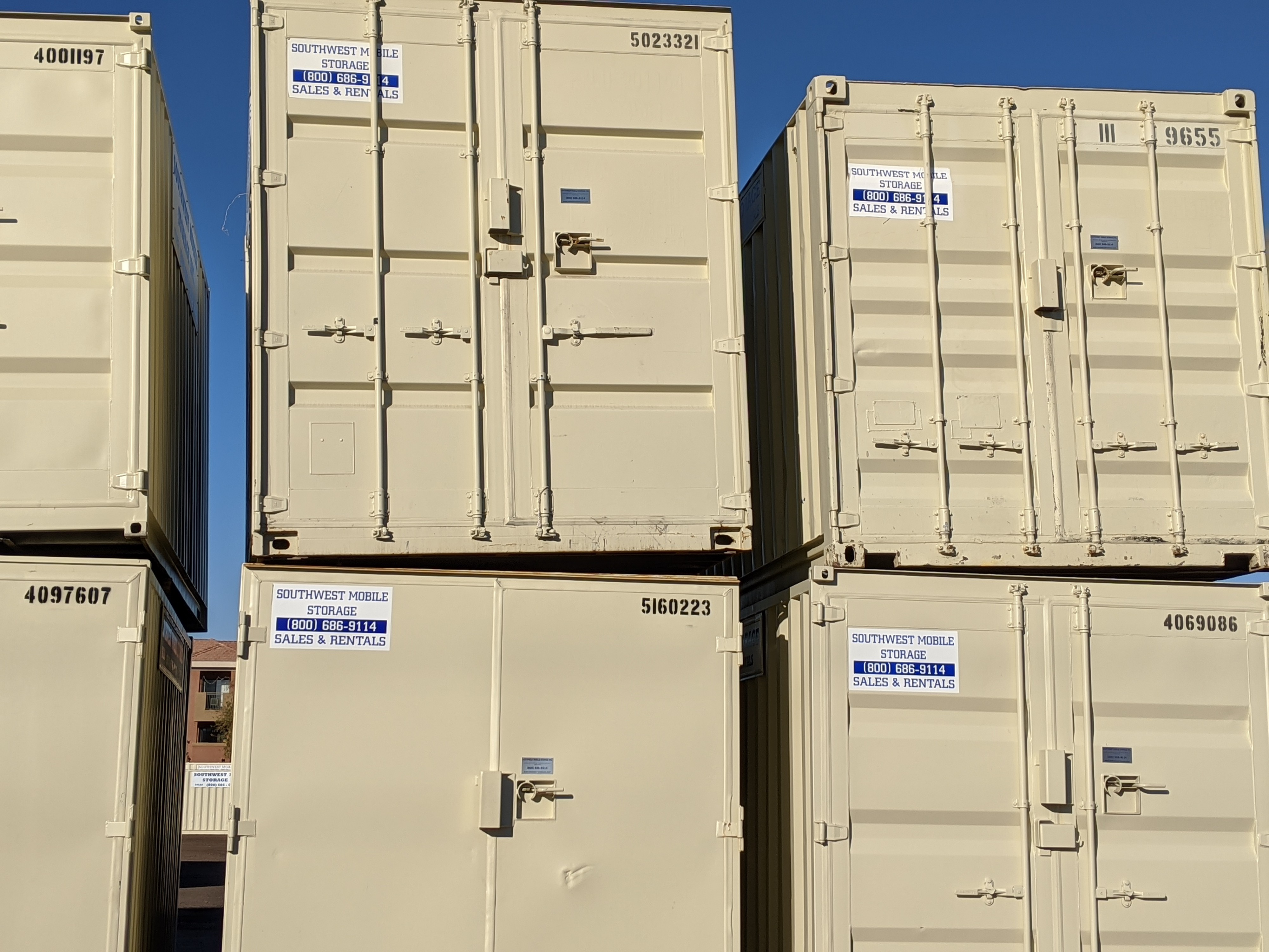 Southwest Mobile Storage Containers