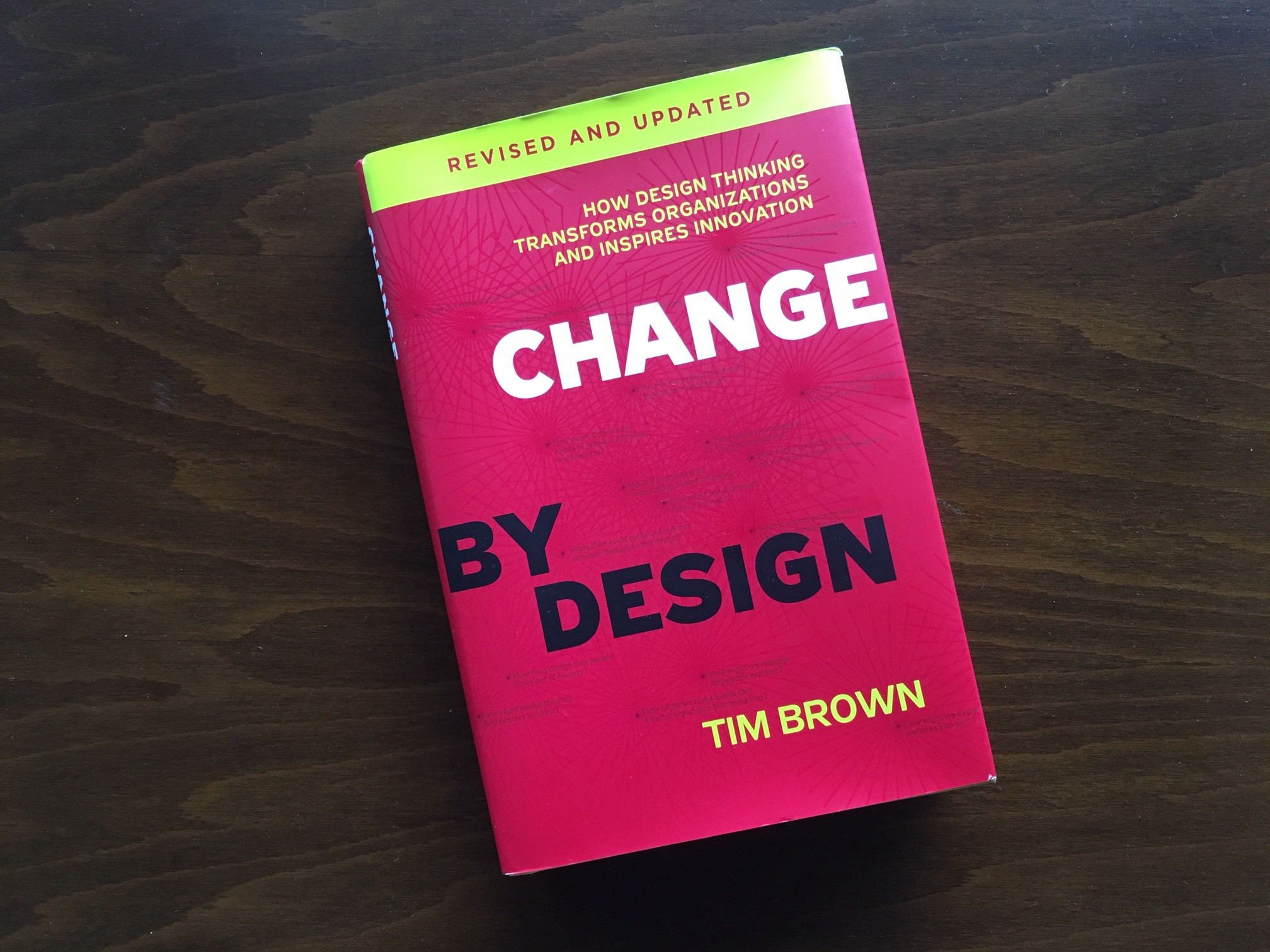 An Introduction To Design Thinking With Change By Design Personal Takeaways By Joan Isaac Biel Medium