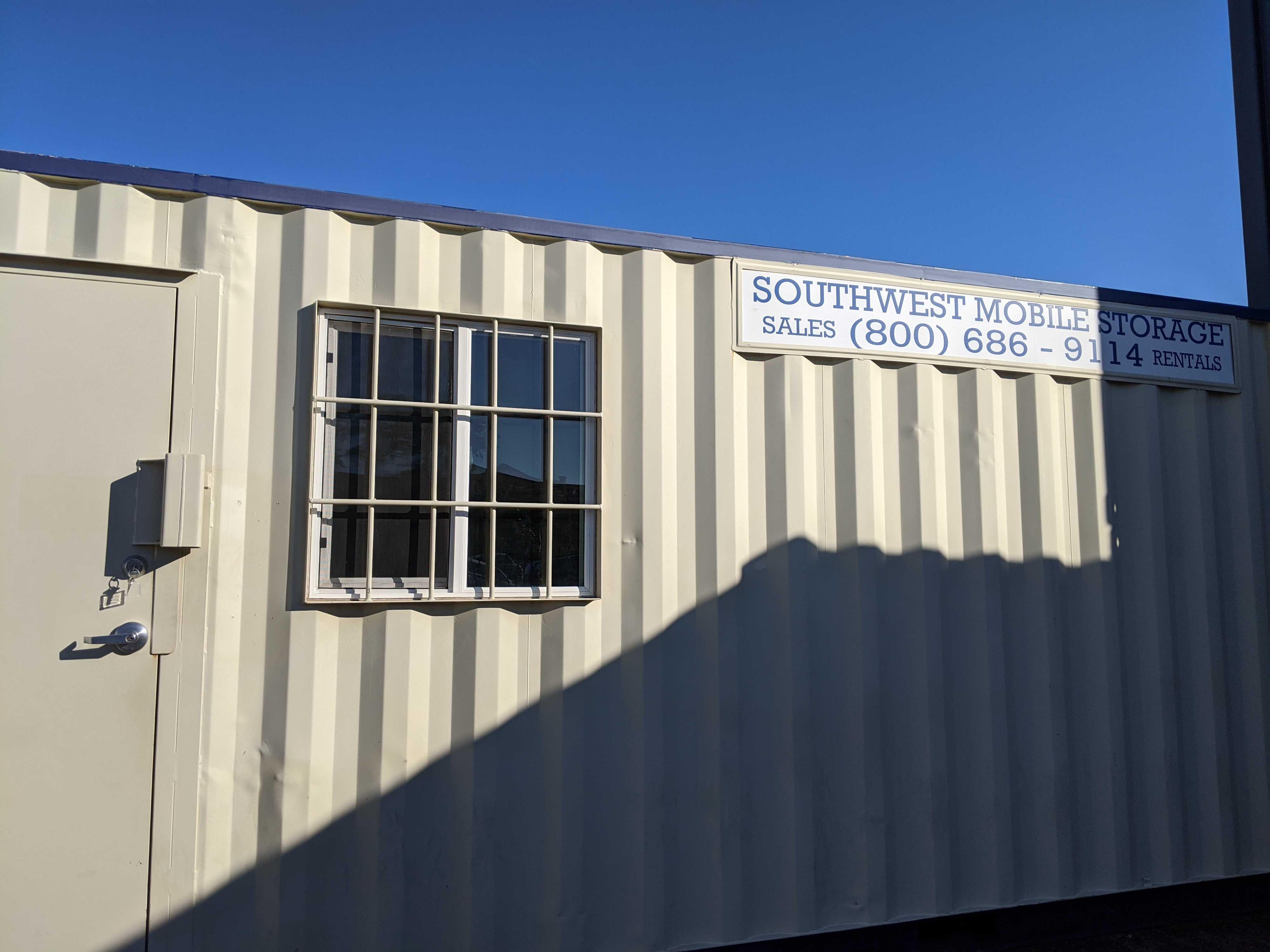 Customized Storage Solution in Phoenix from Southwest Mobile Storage