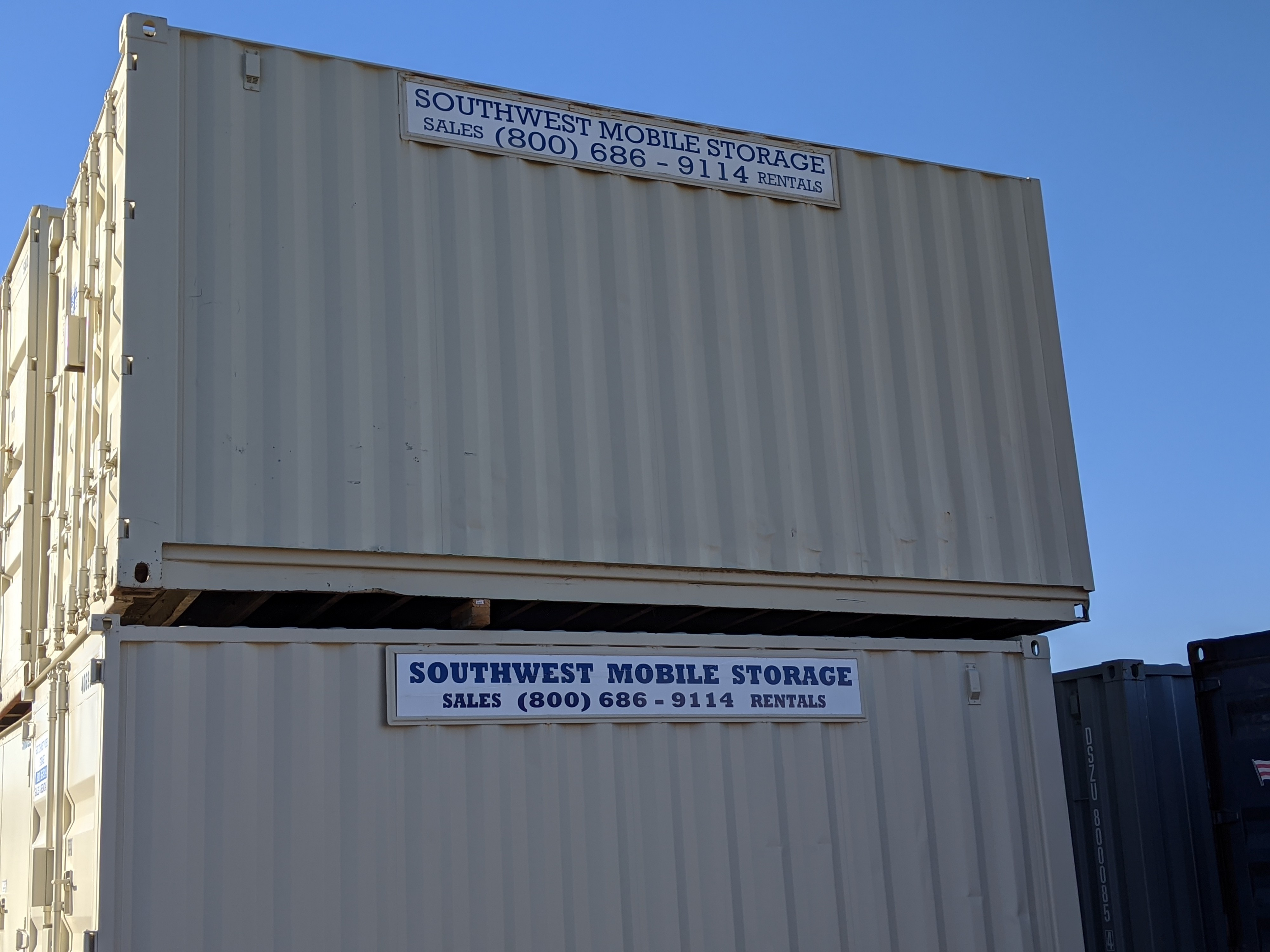 Southwest Mobile Storage Shipping Storage Containers