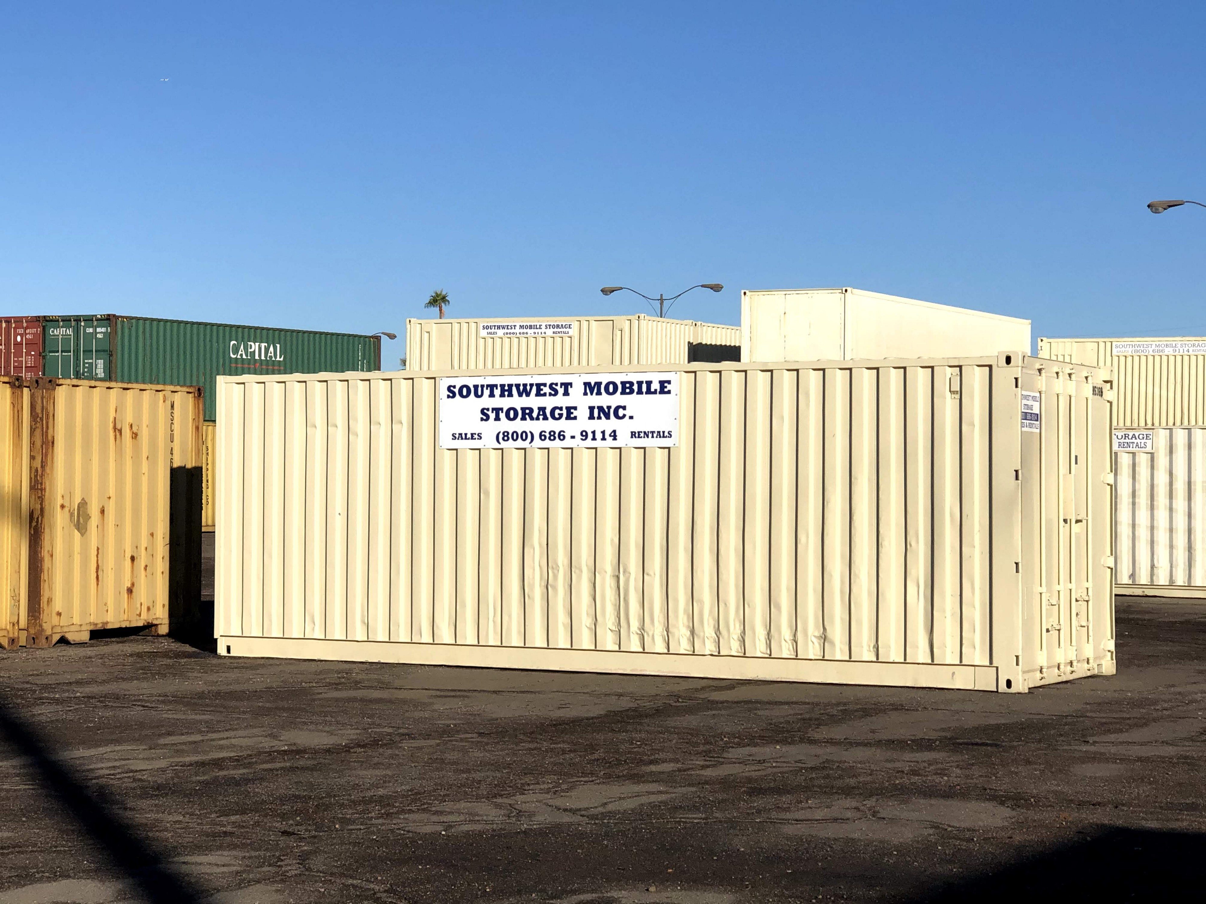 Shipping Container from Southwest Mobile Storage