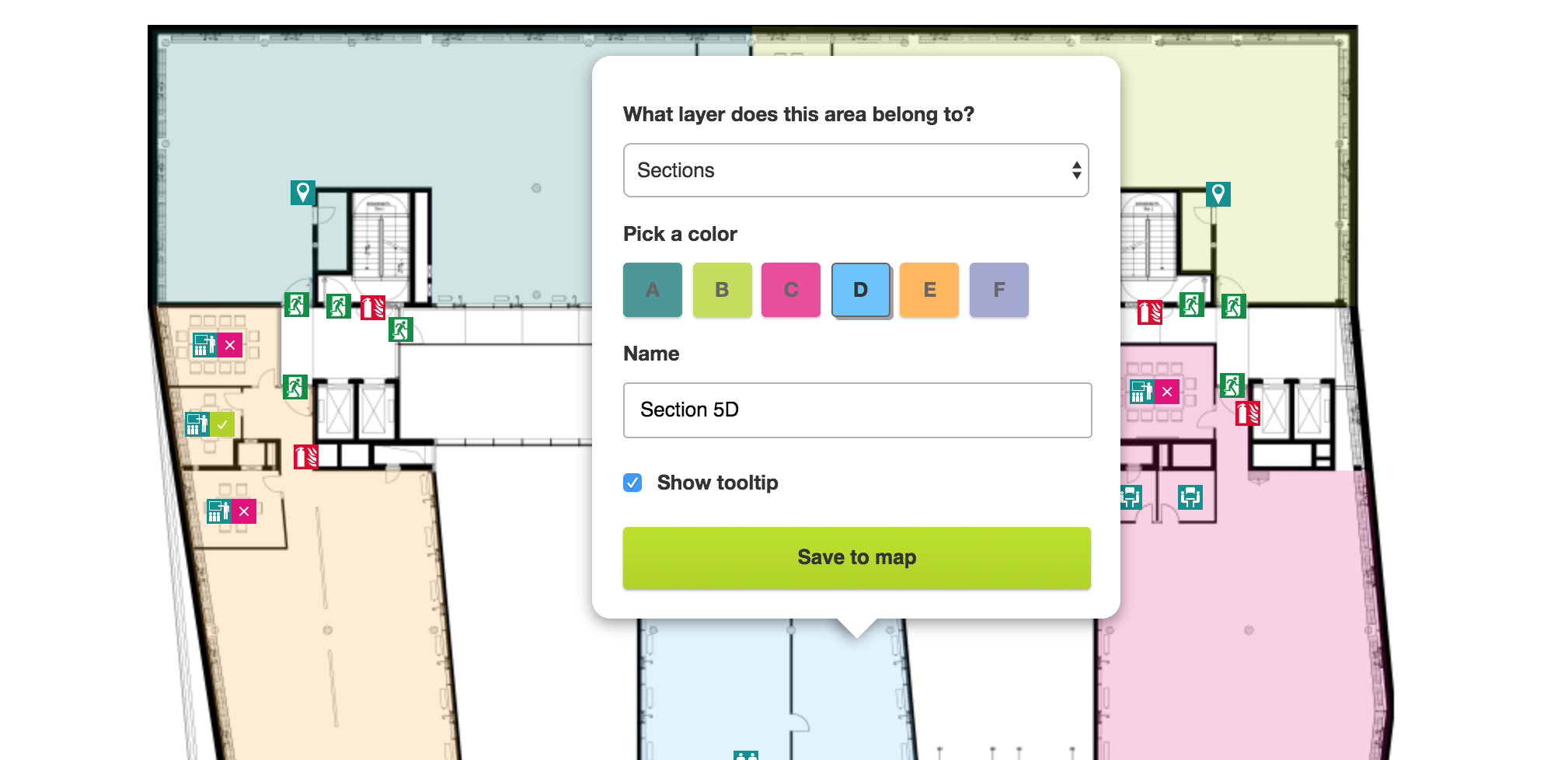 XING Locator: an interactive floor plan using Rails and
