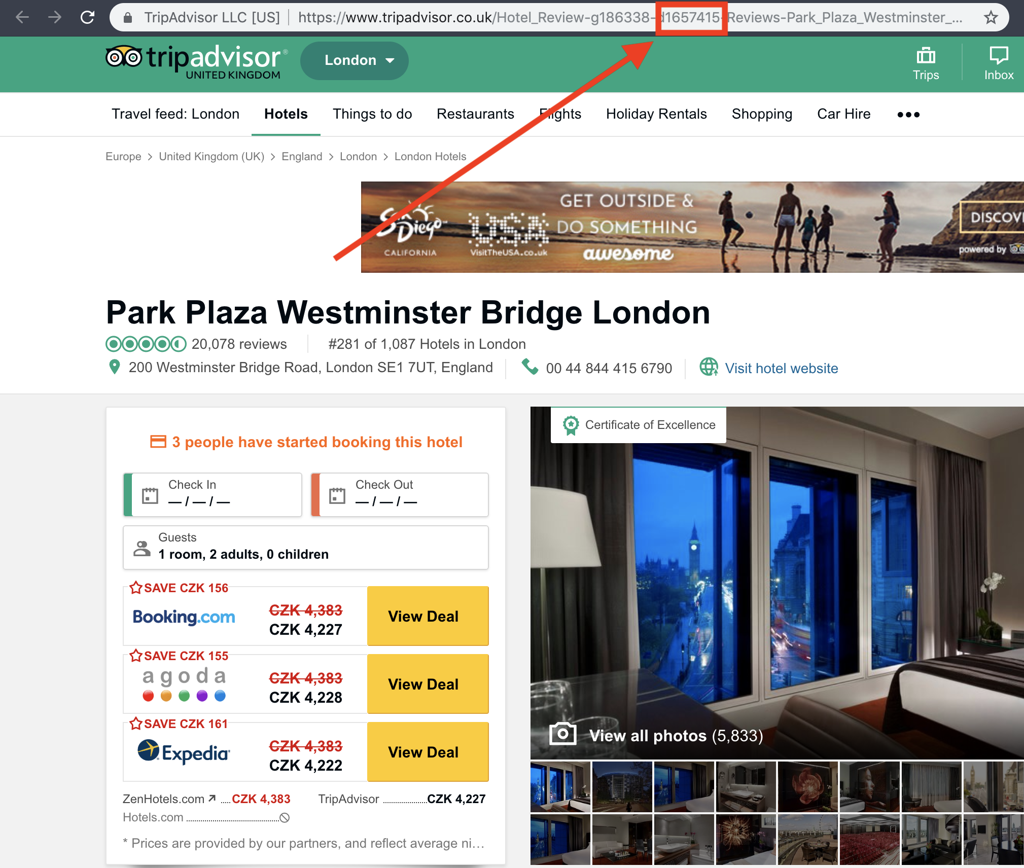 Scrape data from TripAdvisor easily and blazing fast