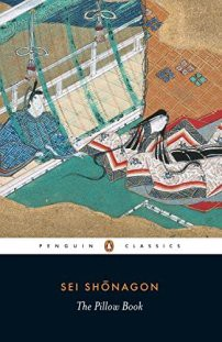 Review of The Pillow Book by Sei Shonagon. Photo of the Penguin Classic edition.