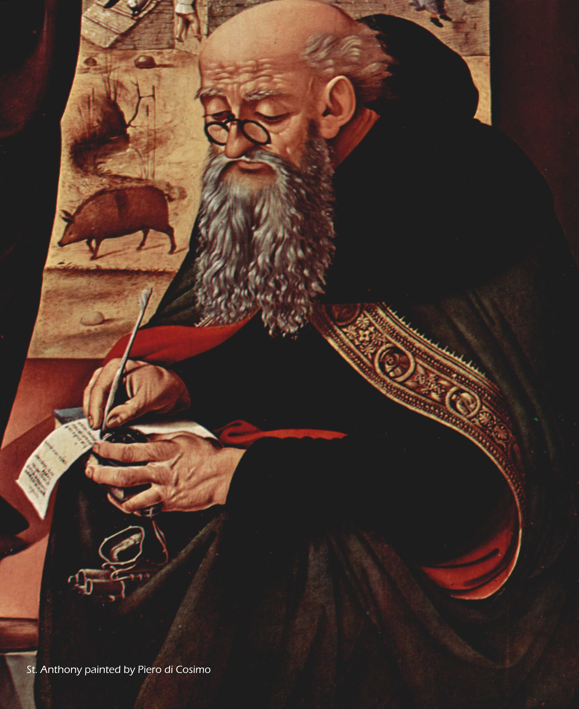 St Anthony father of hermits