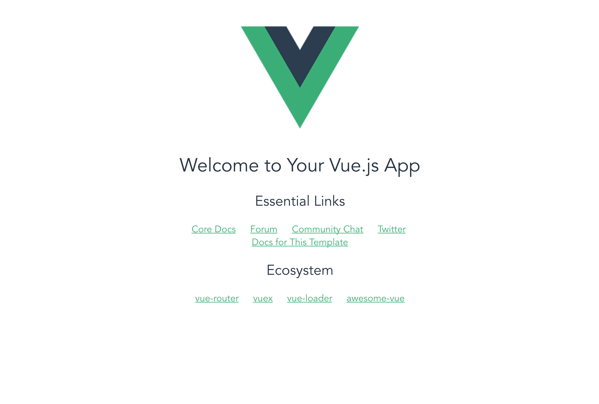 Weekend Project (Part 3): Scaffolding a Vue App with vue-cli