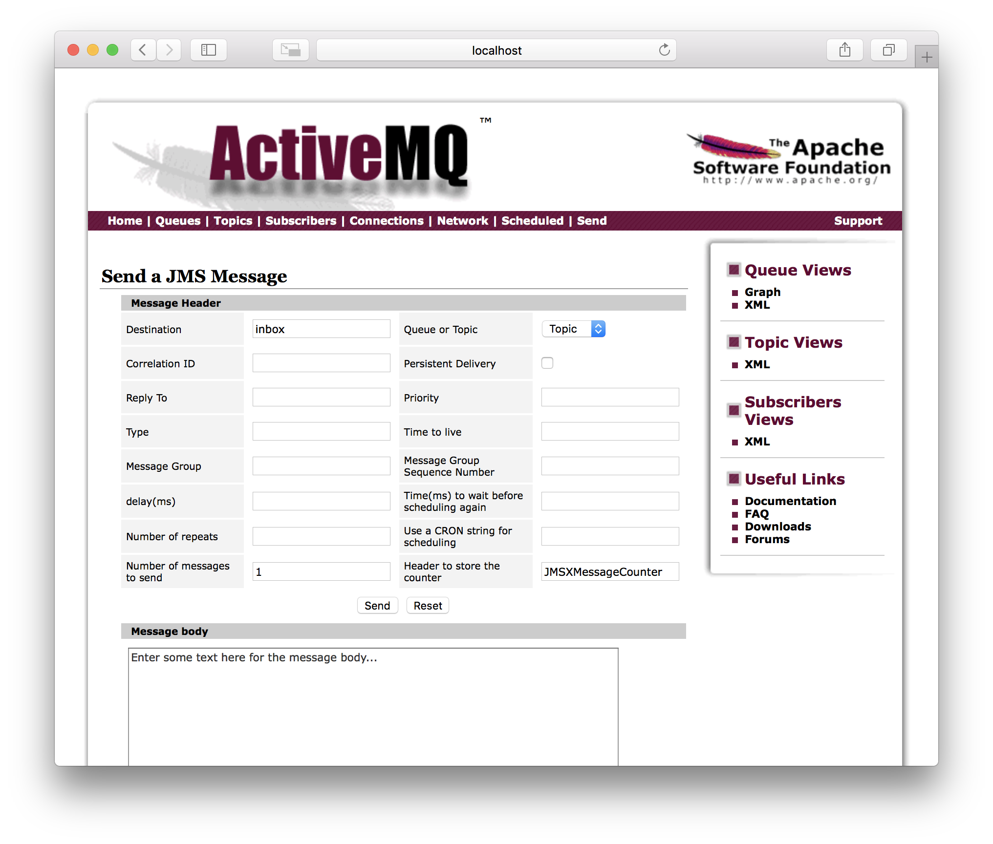 How to connect Android to Apache ActiveMQ - Andrey Rankov