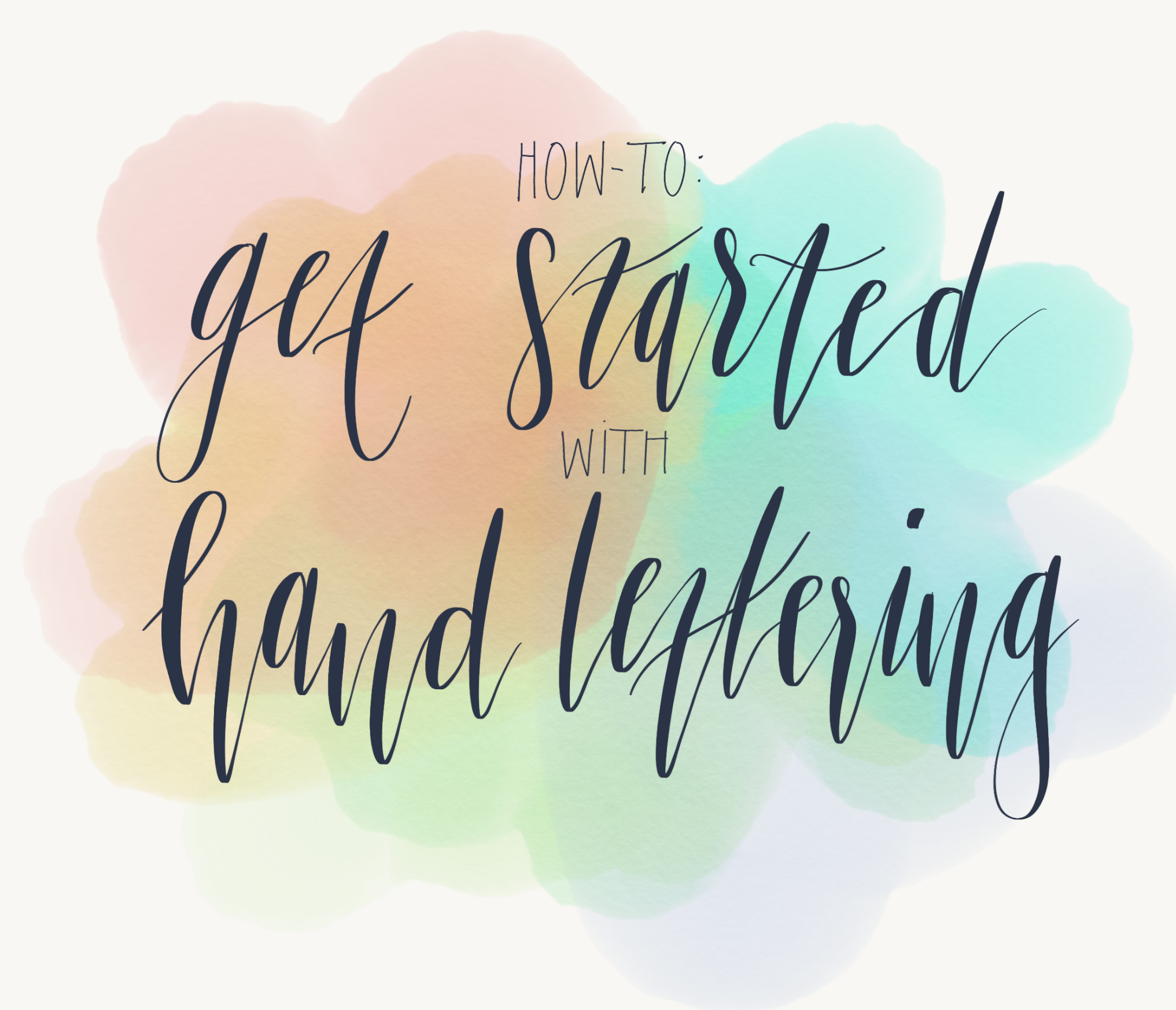 How to get started with hand-lettering - Cat Noone - Medium