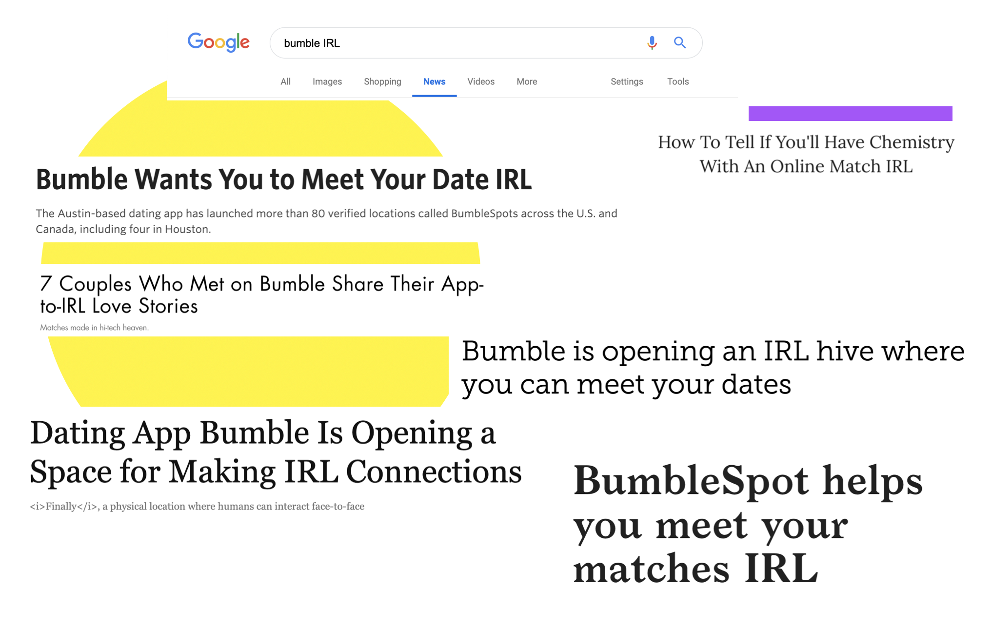 Designing for the Bumble App IRL - The Startup - Medium