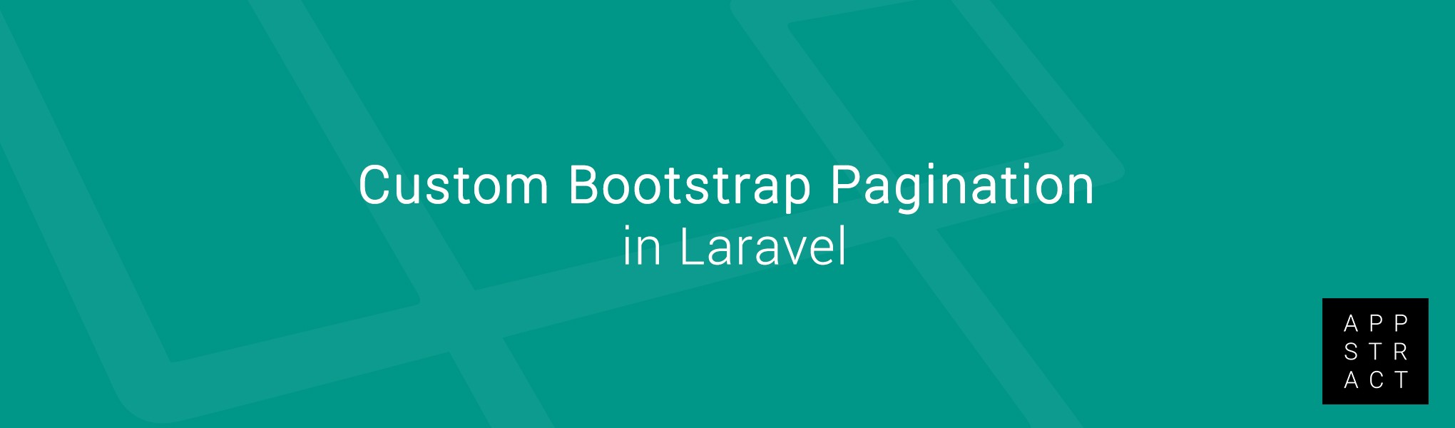 Custom Bootstrap Pagination in Laravel - Appstract - Medium