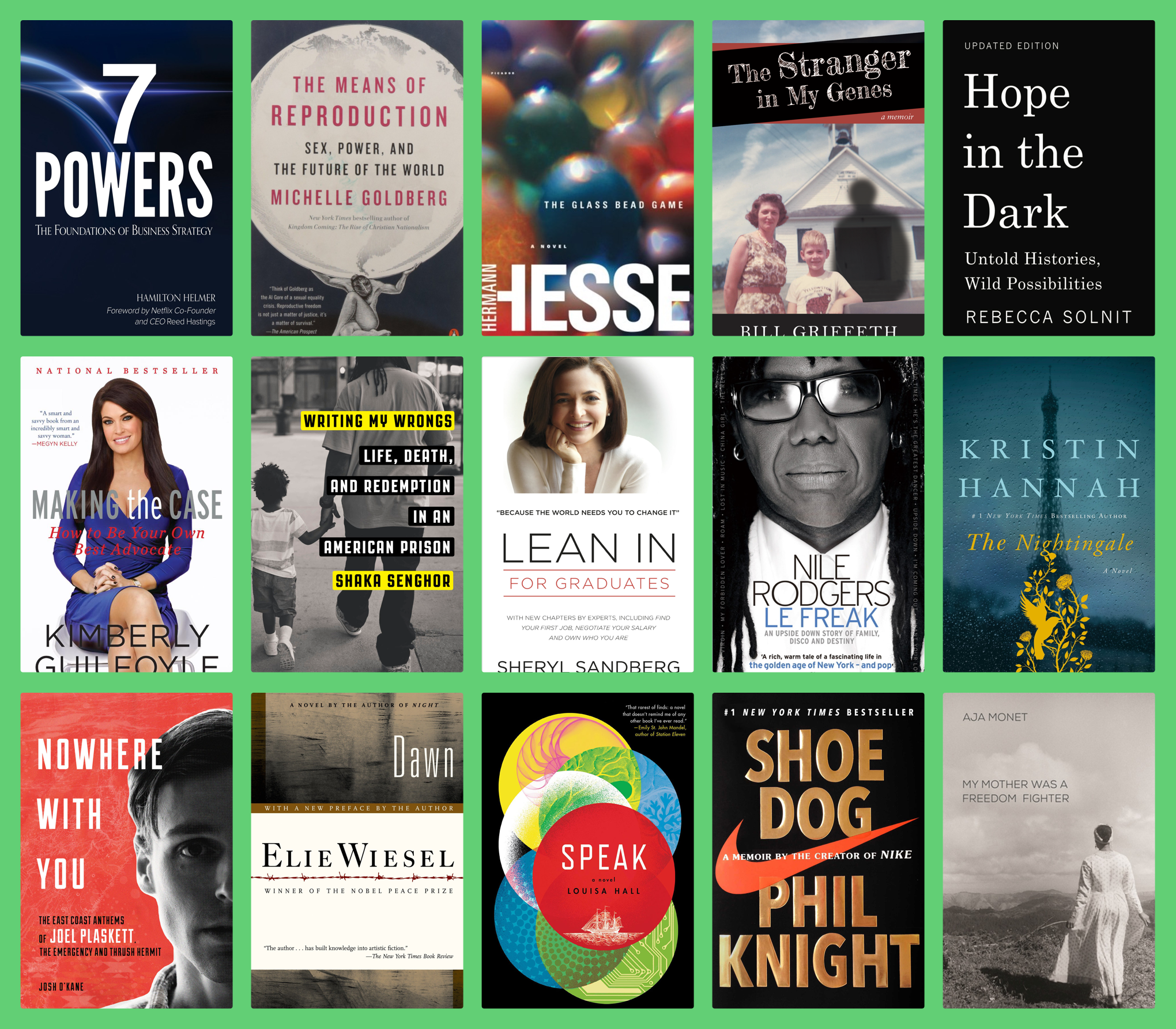 What Books Are Time S 100 Most Influential People Reading