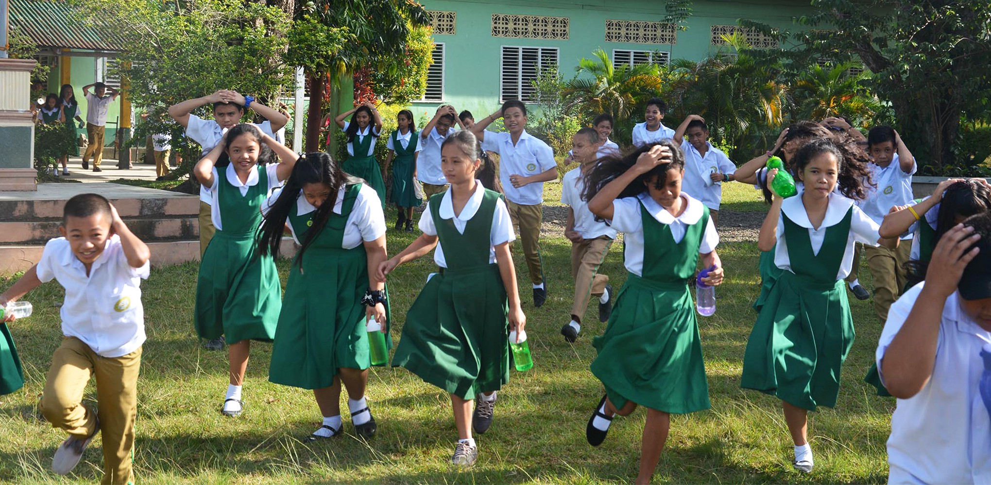 How we conducted tsunami drills in all tsunami-prone schools
