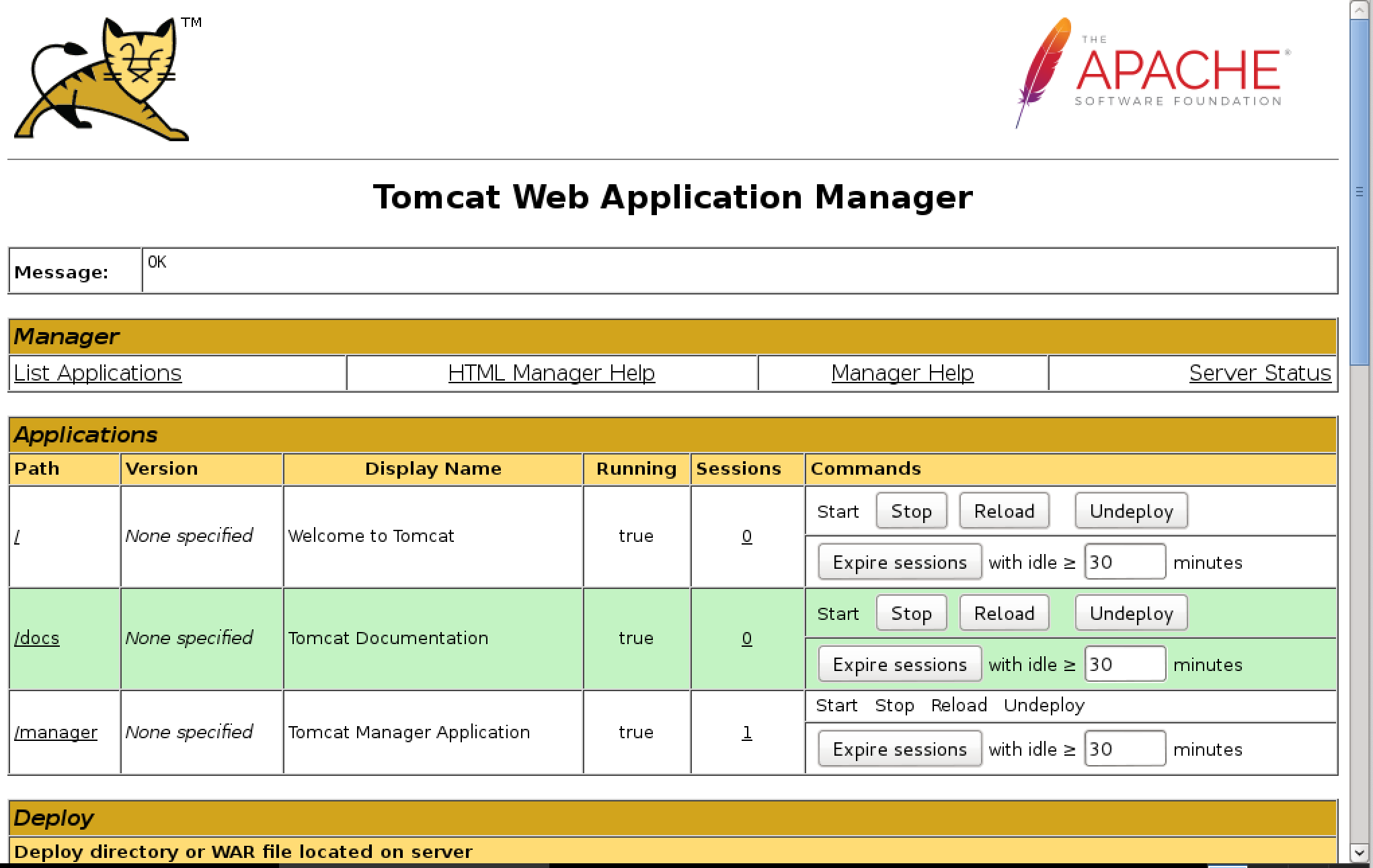 Additional Book Exercises: Apache Tomcat Guessable Credentials