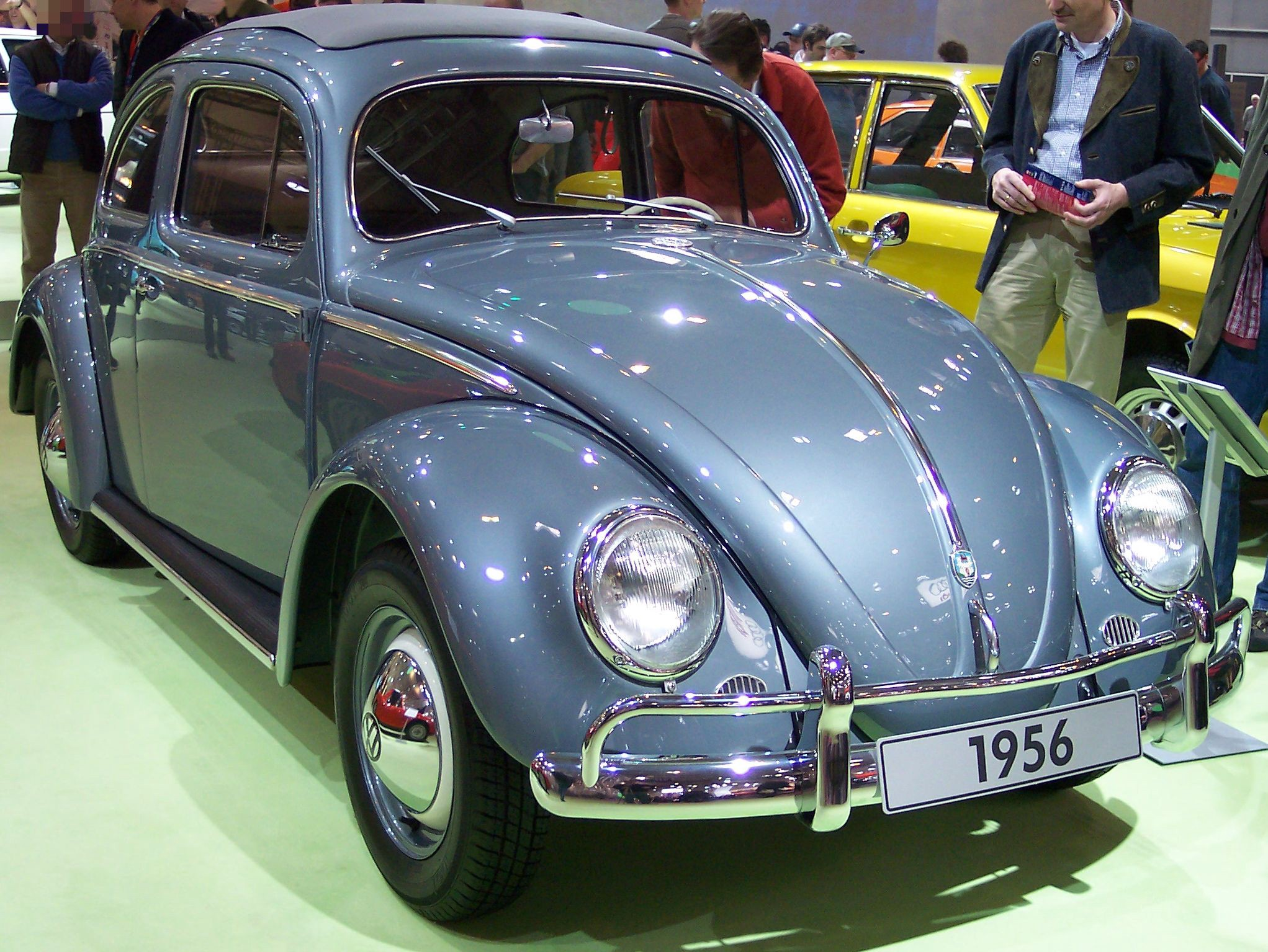 A VW Beetle from 1956