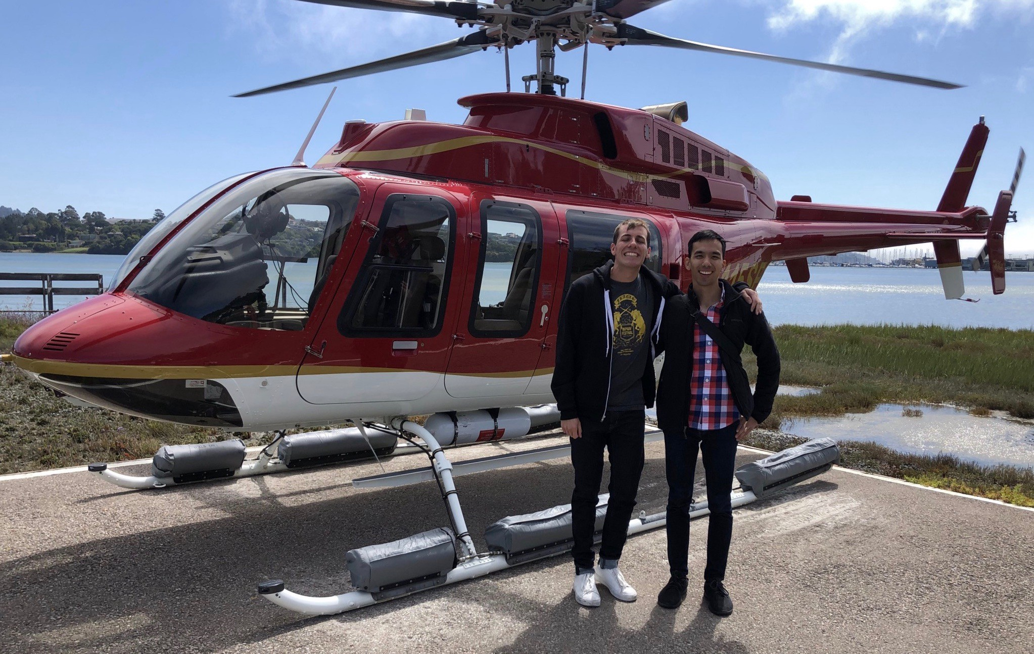 The Sync Up: A Helicopter Ride, Then Netflix and Chill