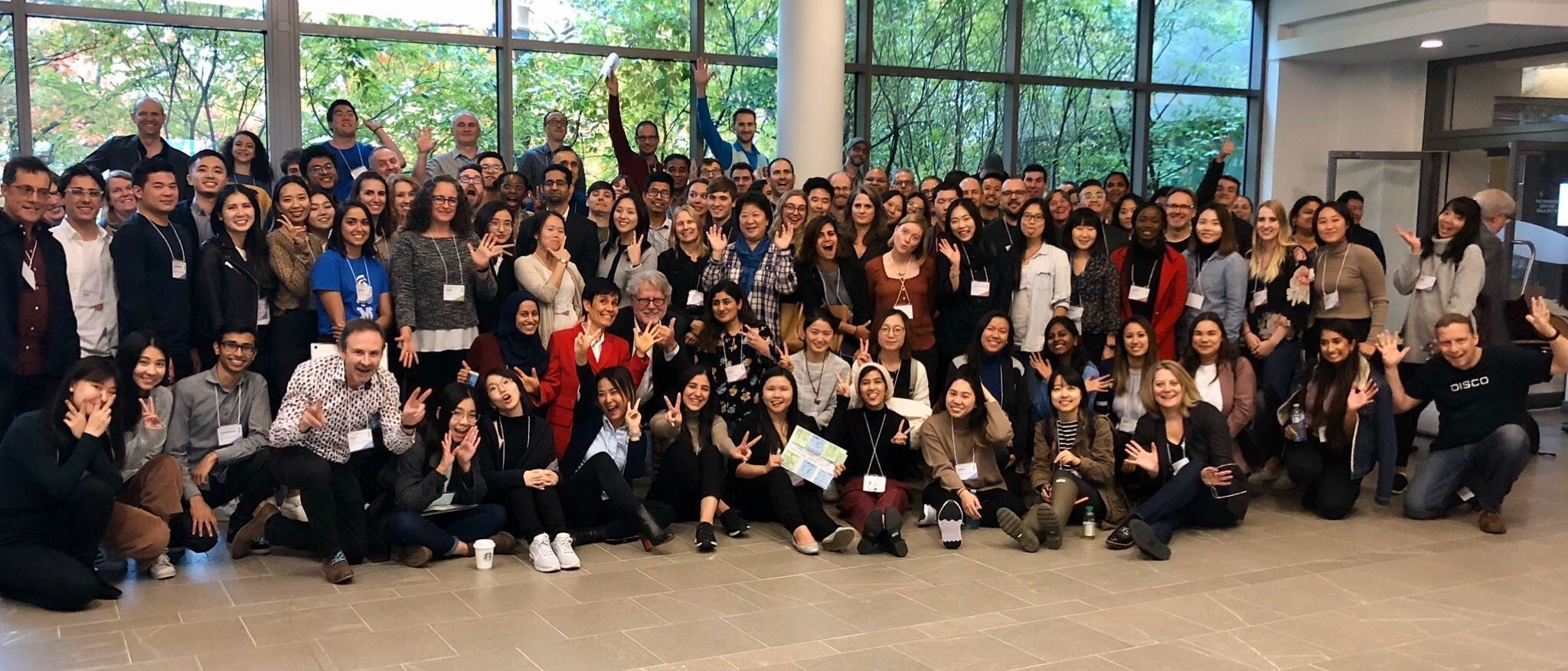 Group photo of the IBM Canada Design Summit 2019 attendees