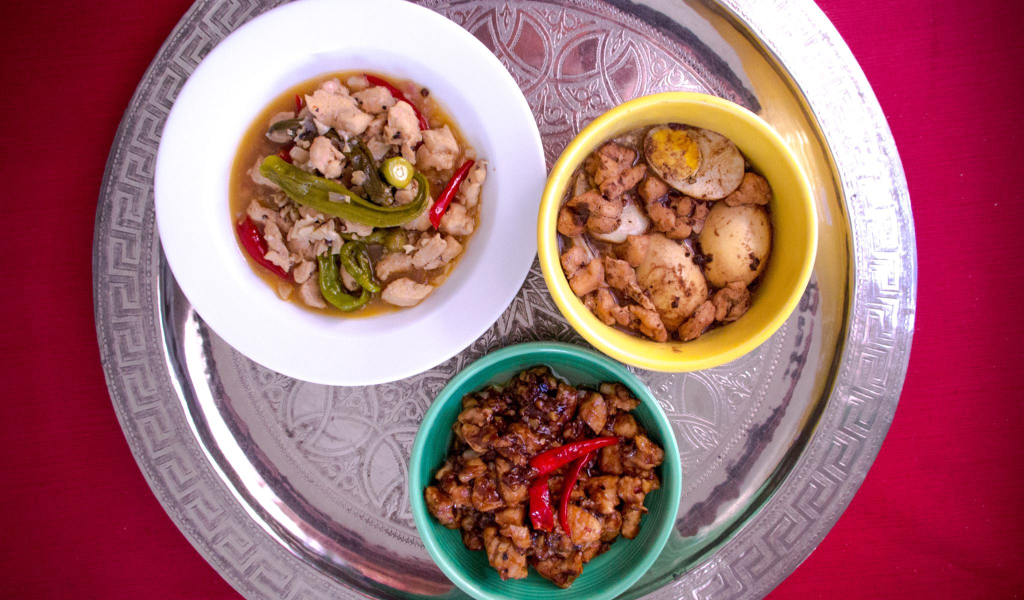 Chicken Breast And Green Chili In Vinegar And Fish Sauce In English And Filipino By Wilfredo Pascual Medium