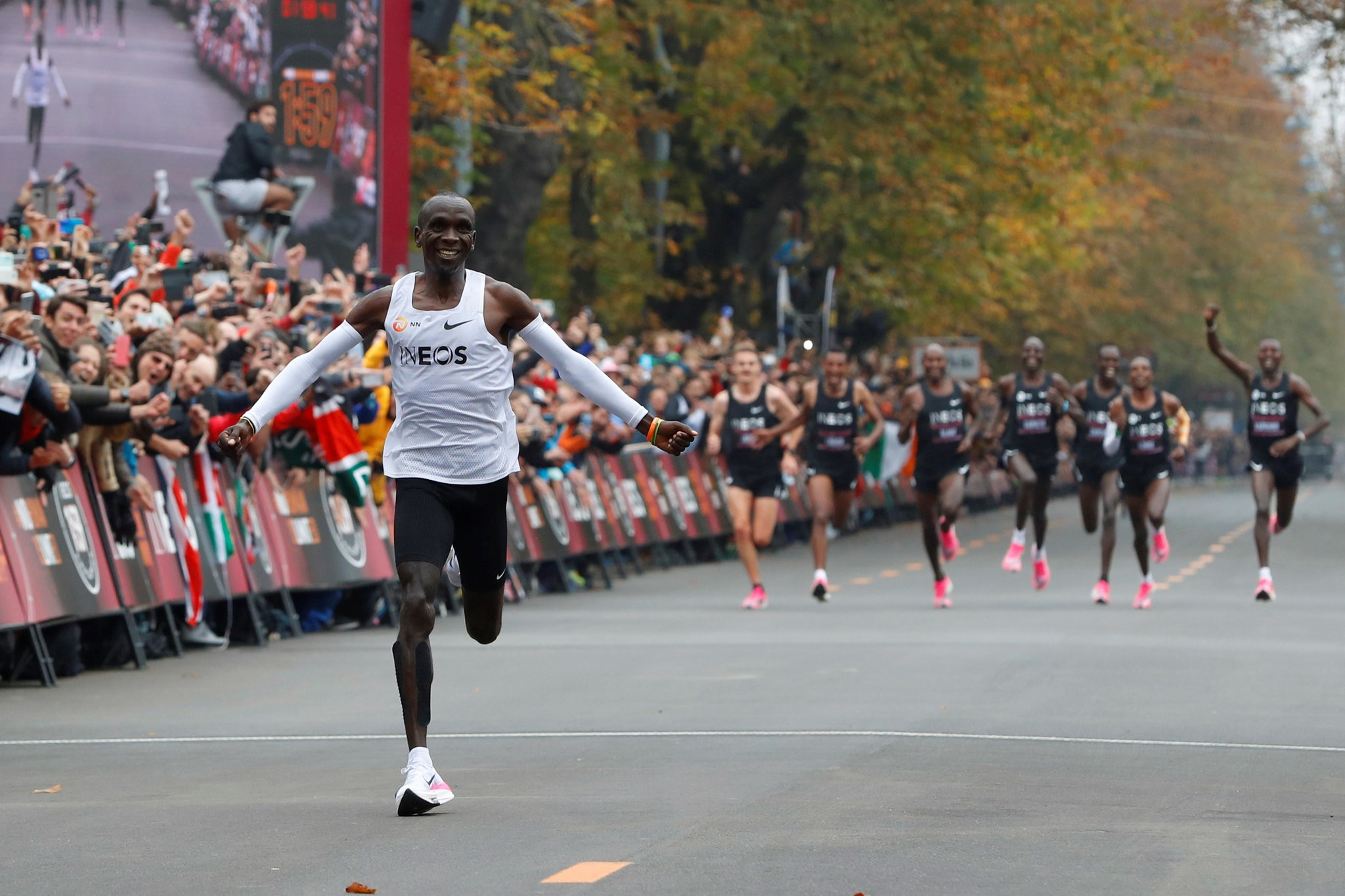 Eliud Kipchoge, INEOS 1:59 challenge | Source: NYTimes