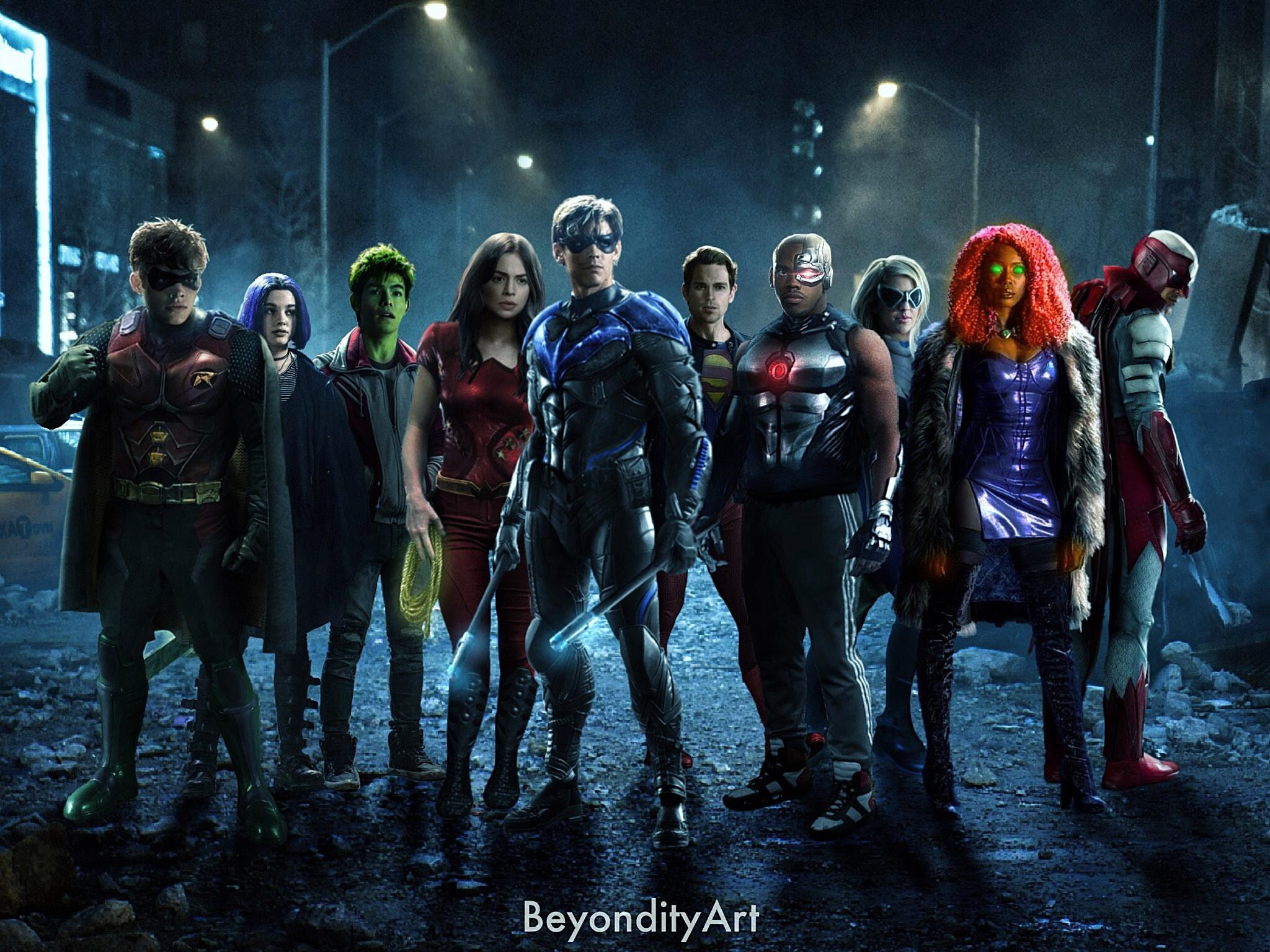 27+ Watch Titans Dc Free  Wallpapers