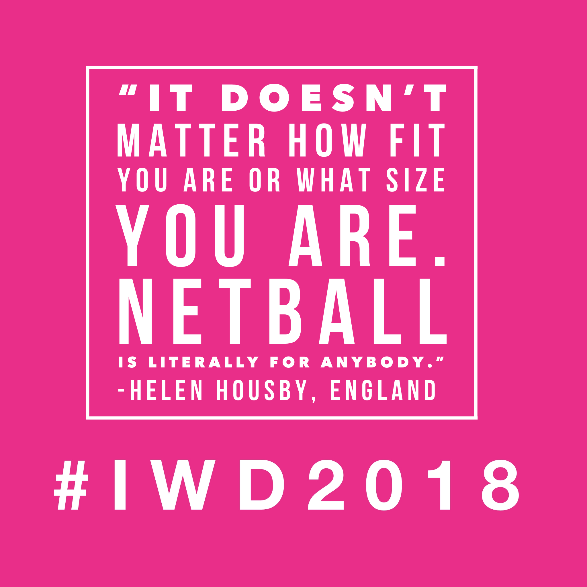 Top Netball Quotes for #IWD2018 - Sarah Bennett - Medium