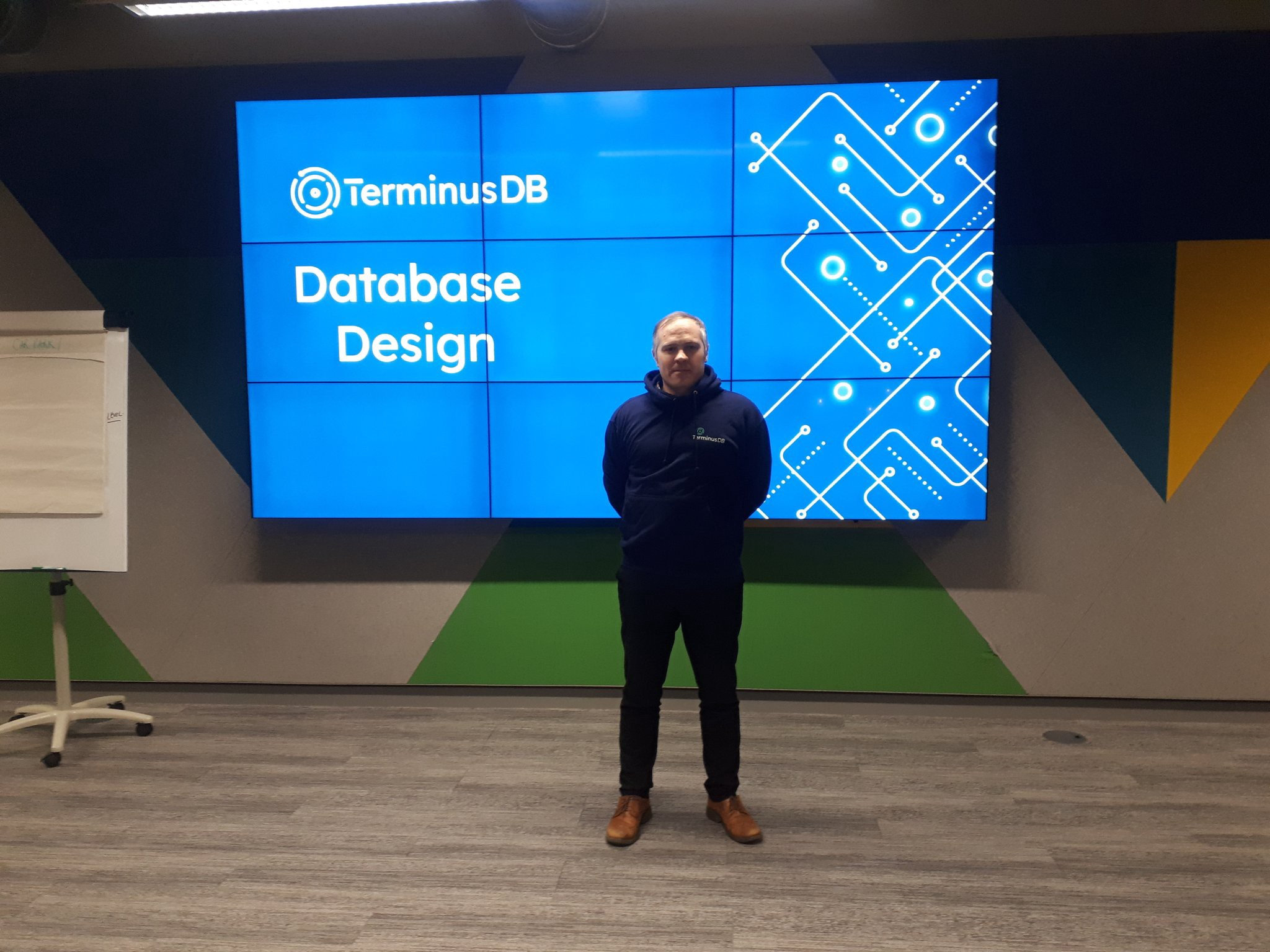 TerminusDB community arrived in London